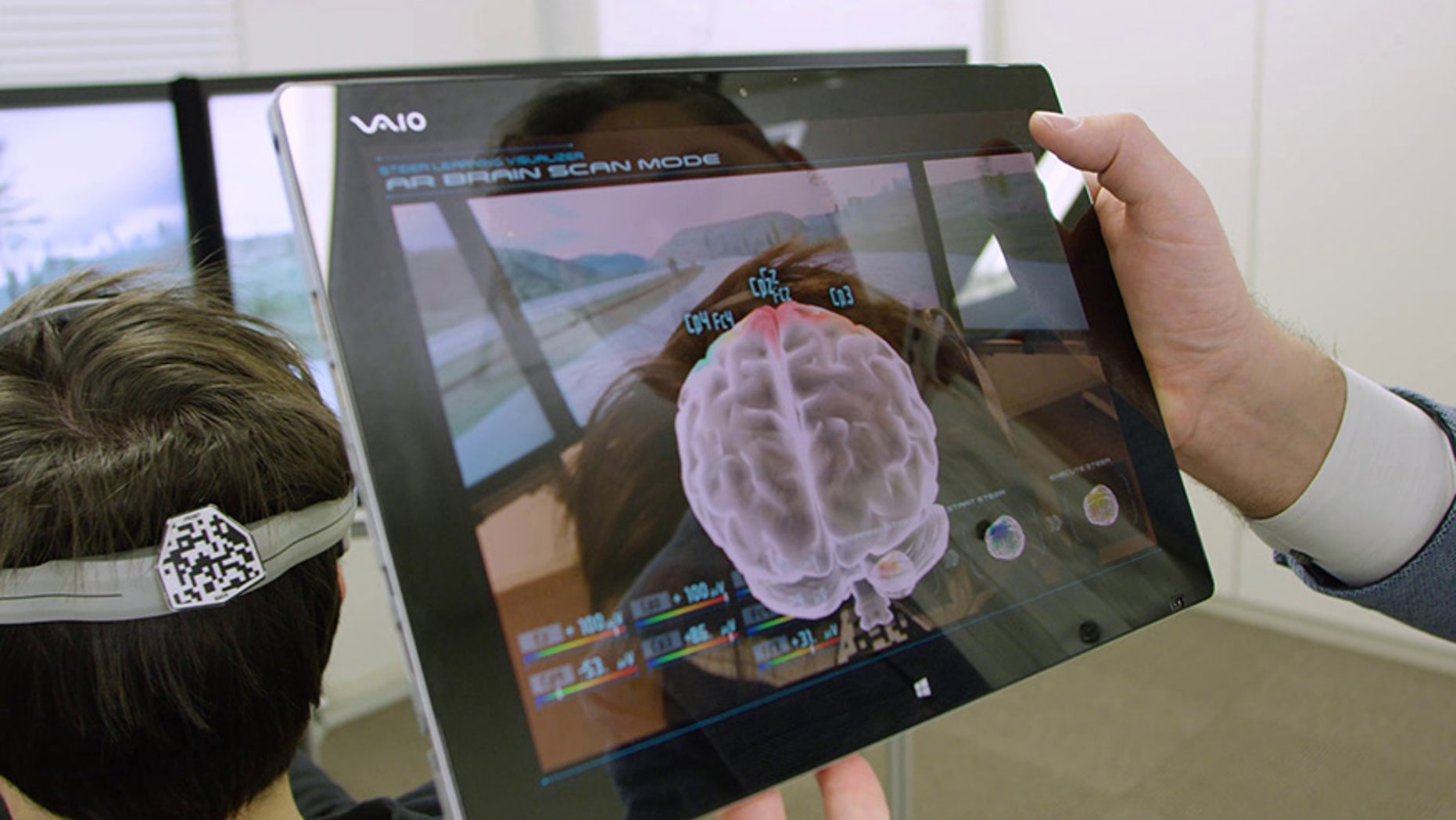 YOKOHAMA, Japan (Jan. 3, 2017) – Nissan unveiled research today that will enable vehicles to interpret signals from the driver's brain, redefining how people interact with their cars. The company's Brain-to-Vehicle, or B2V, technology promises to speed up reaction times for drivers and will lead to cars that keep adapting to make driving more enjoyable.