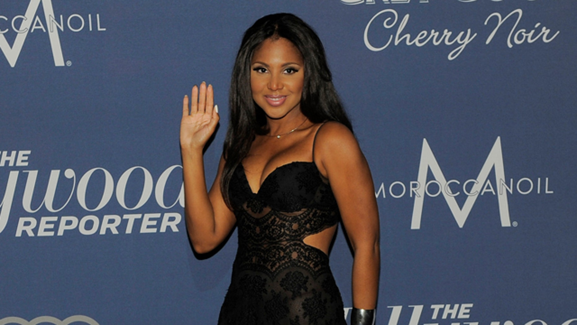 Feb. 23, 2012: Singer Toni Braxton is shown arriving at The Hollywood Reporter Nominees Night in Los Angeles.