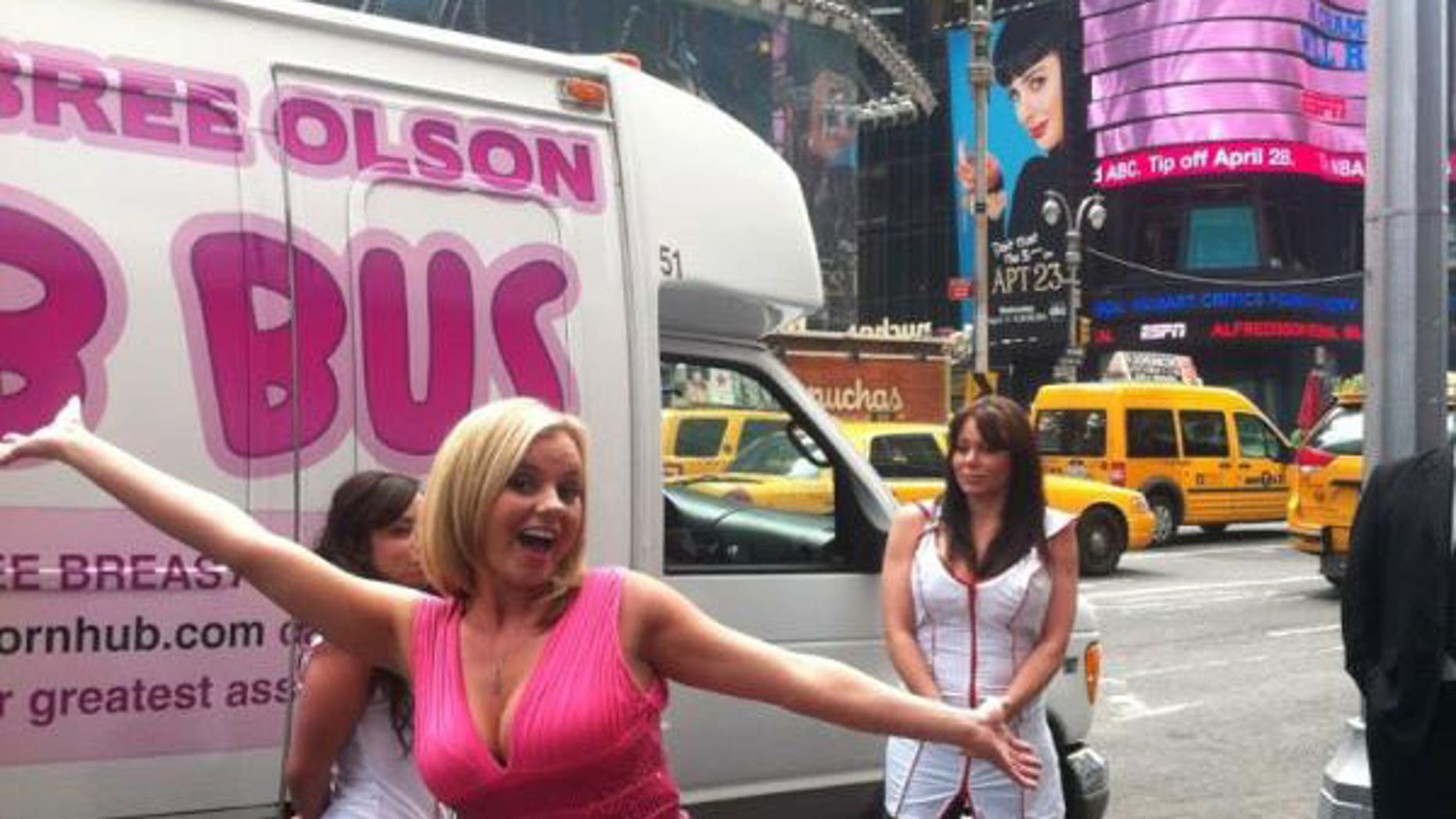 Tour Bus Features Porn Star, Free Breast Exams  Fox News-5768