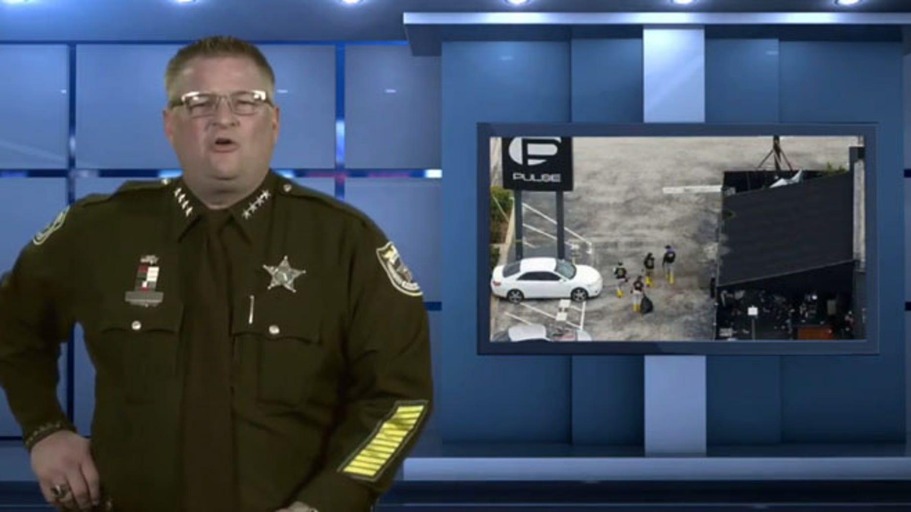 Wayne Ivey, Sheriff of Brevard County in Florida.