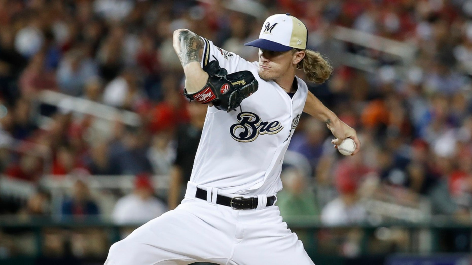 new style 95d8f 6ddc7 Brewers all-star Josh Hader avoids suspension, to attend ...