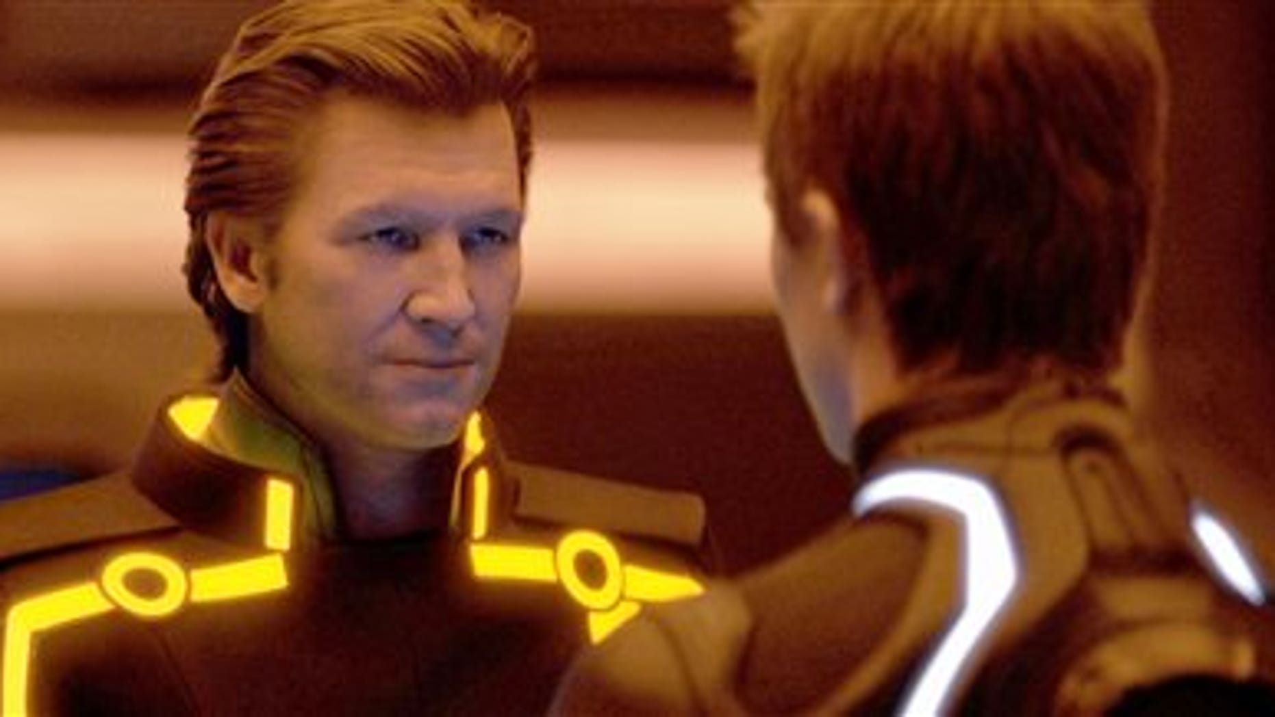 """Jeff Bridges shown in """"Tron: Legacy."""" (AP)"""
