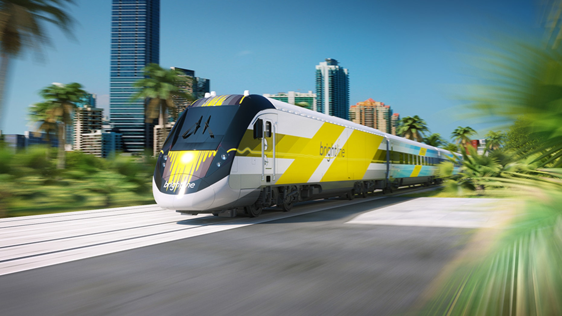 A man in Florida was hit and killed by a high speed Brightline train on Sunday, police said.