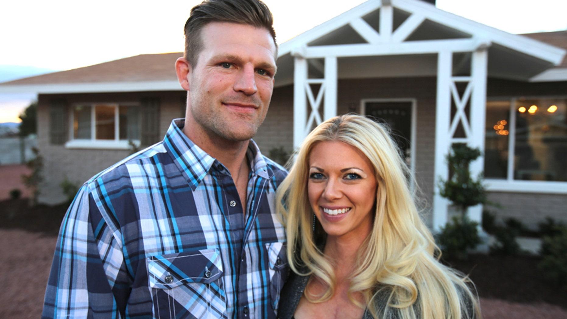 "Designer Bristol Marunde (left) and his wife, real estate expert/designer Aubrey Marunde are the stars of the HGTV show ""Flip or Flop Vegas."""
