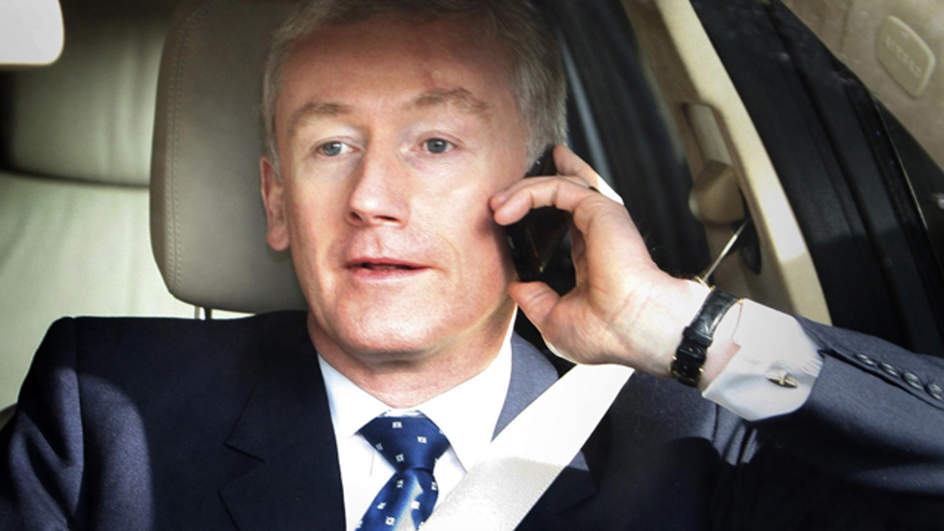 FILE 2008: Former Royal Bank of Scotland  chief executive Fred Goodwin who led the bank into near collapse.