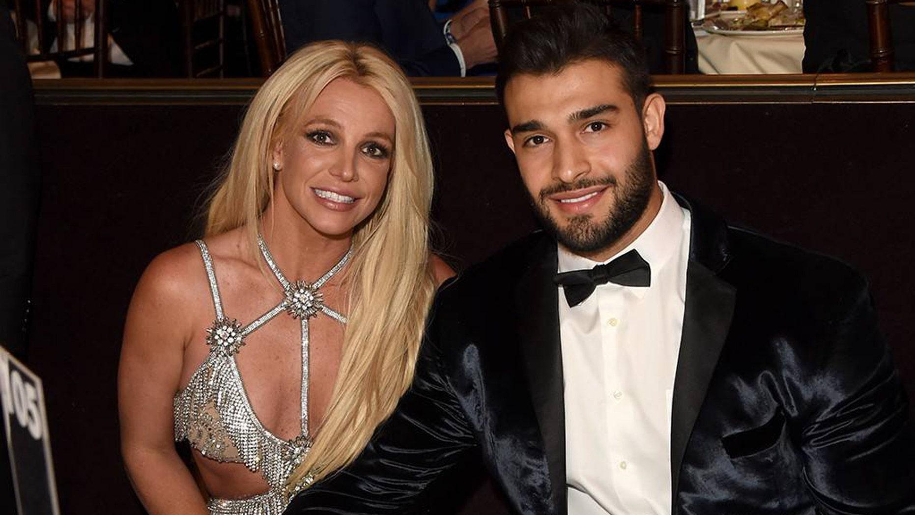 Britney Spears and boyfriend Sam Asghari.