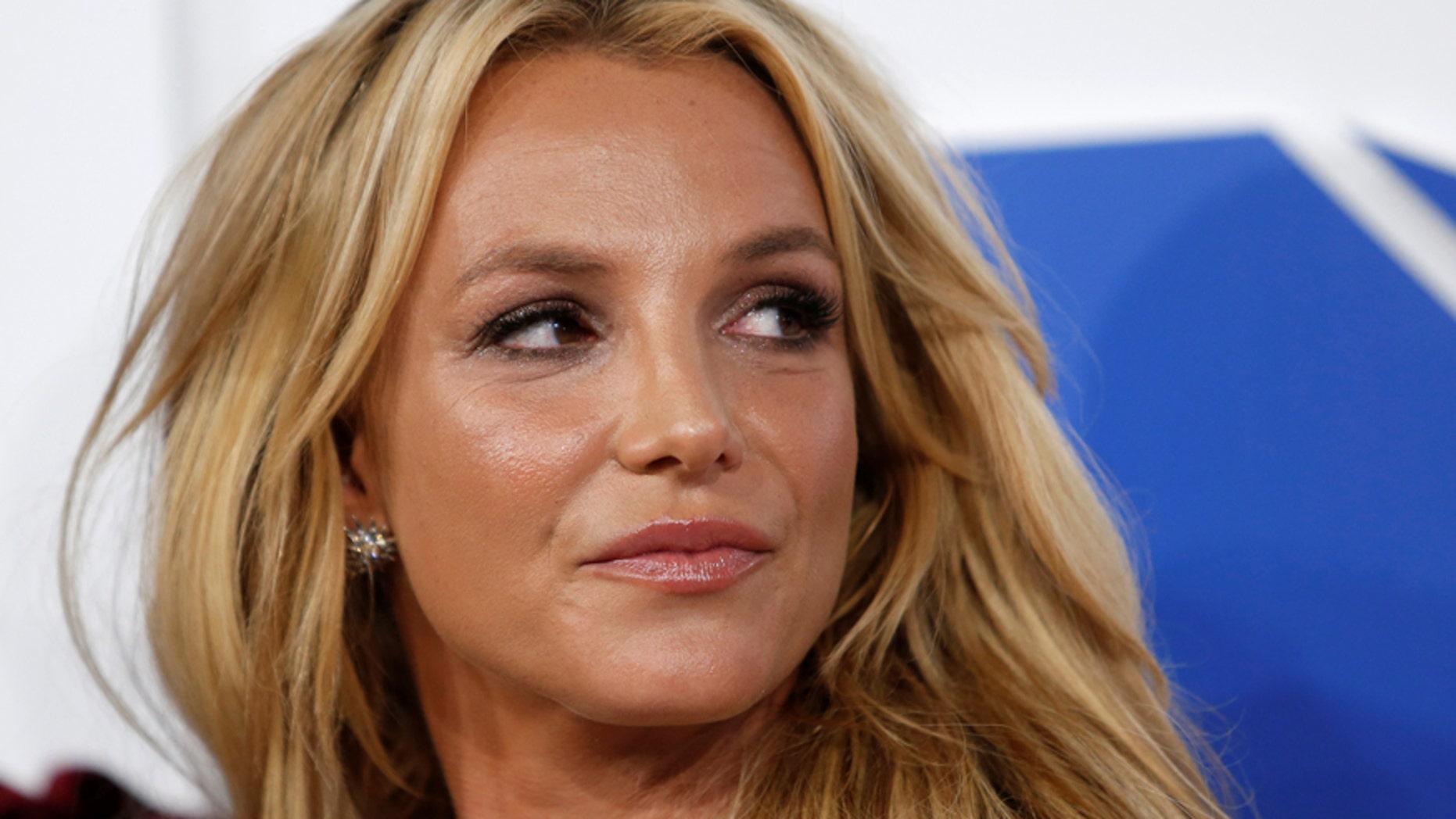 Britney Spears the 2016 MTV Video Music Awards