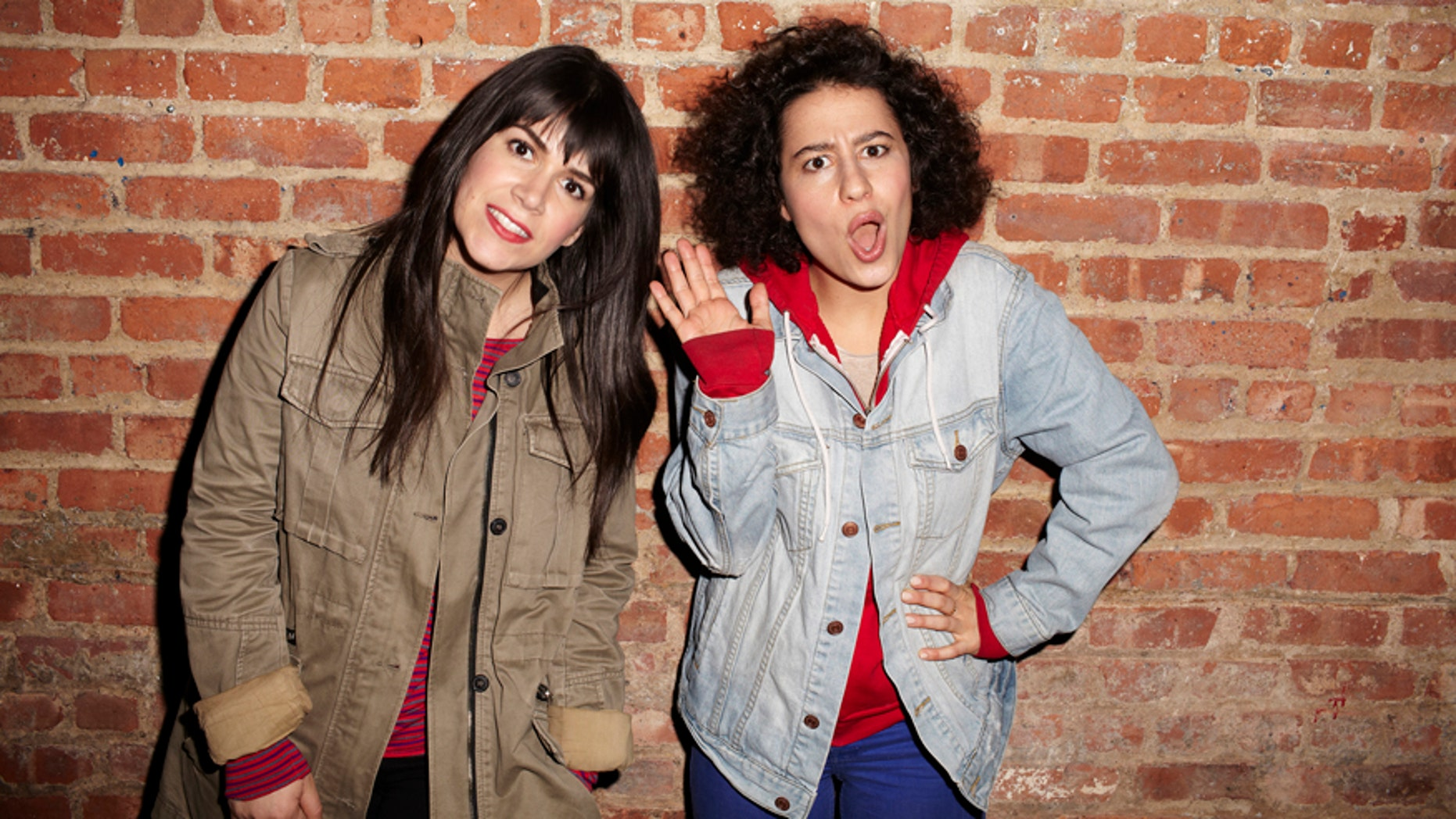 "Abbi Jacobson (left) and Ilana Glazer of ""Broad City."""