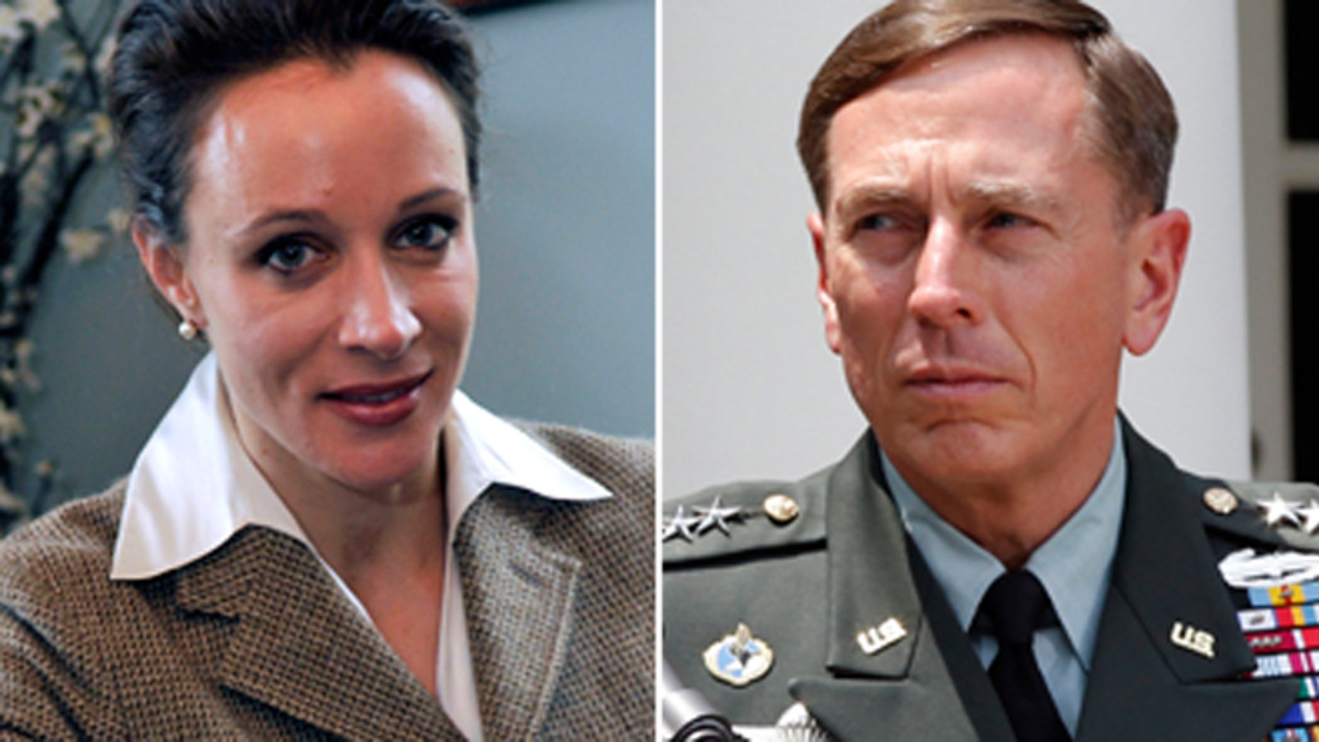 CIA Director David Petraeus, right, announced his resignation after admitting to an extramarital affair, which Fox News has learned was with his biographer, Paula Broadwell, left.