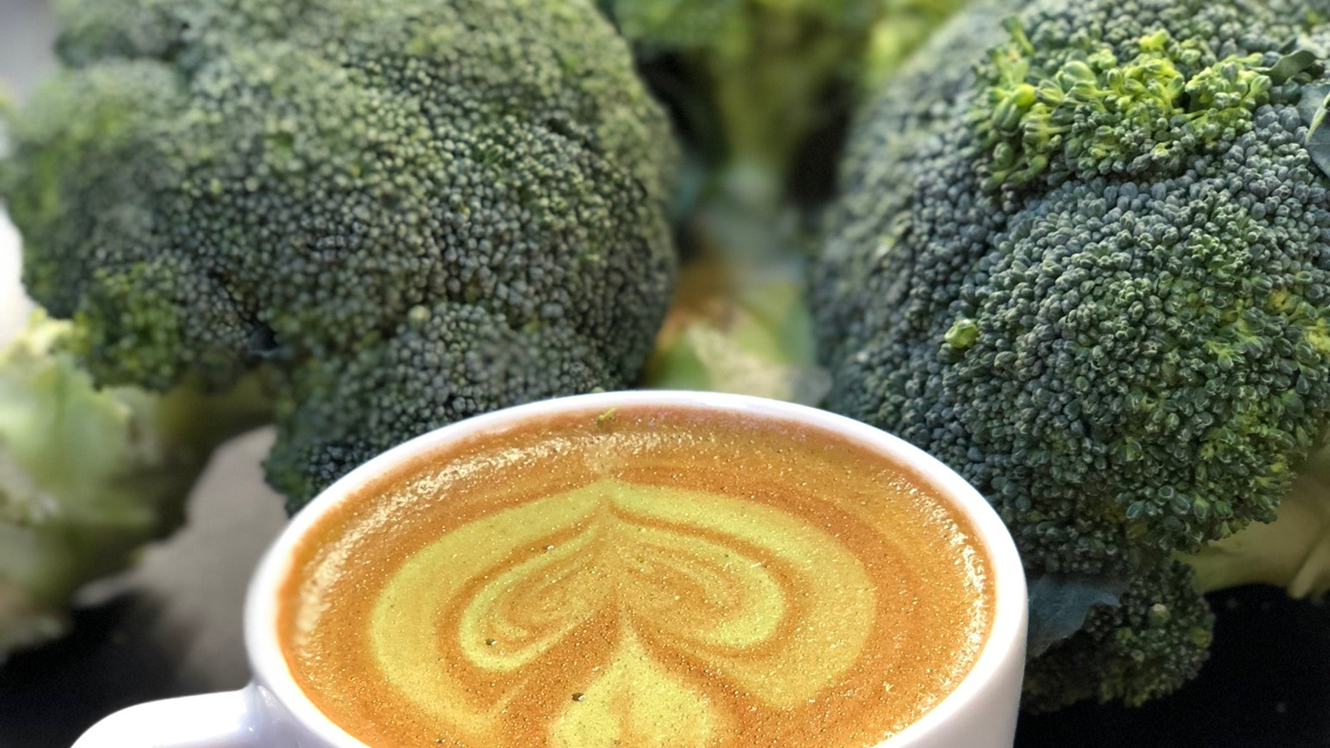 An Australian government agency partnered with a horticultural group to create a powdered broccoli product that can be made into coffee drinks.