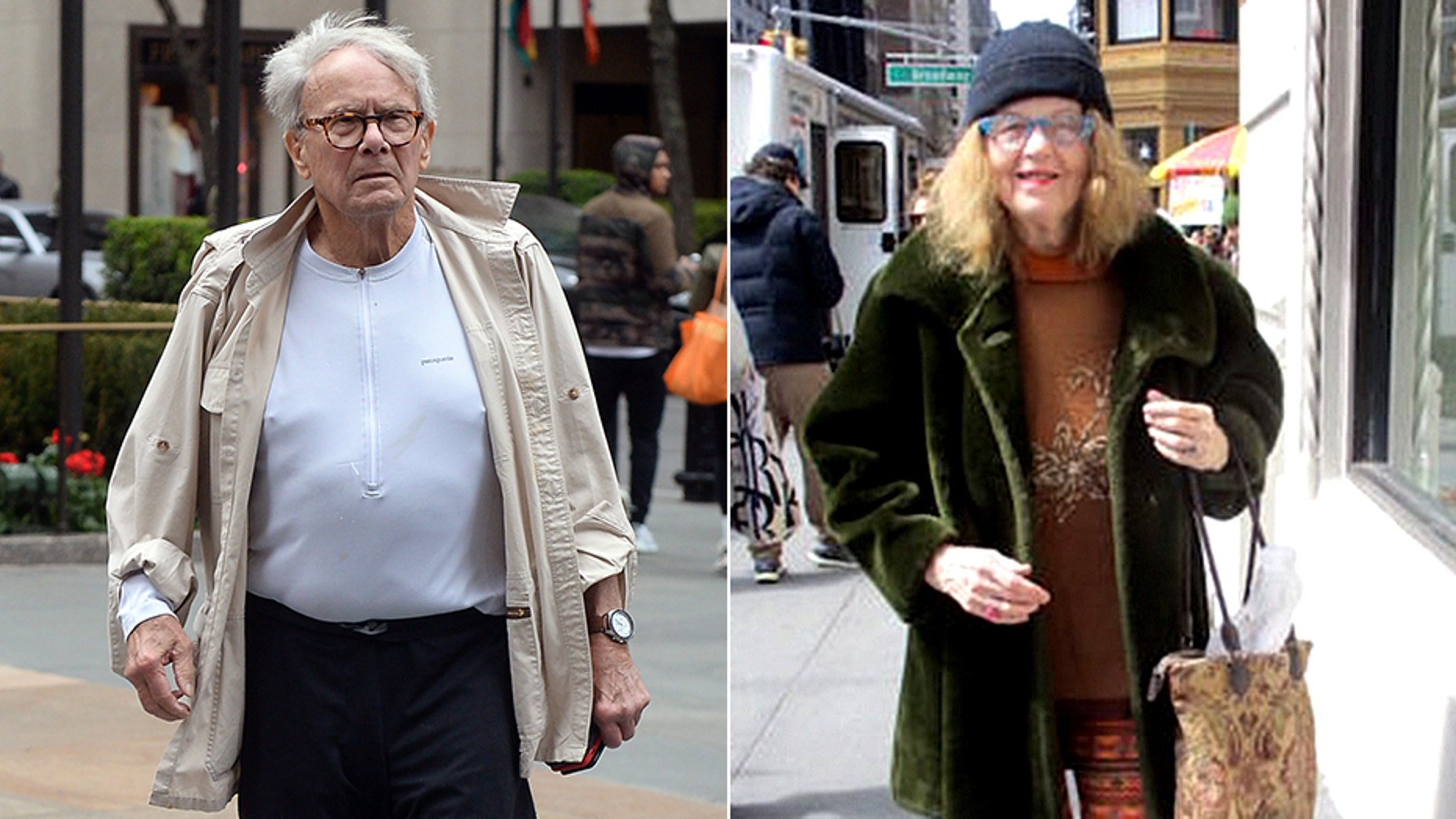 Mary Reinholz, right, has accused Tom Brokaw of forcibly kissing her.