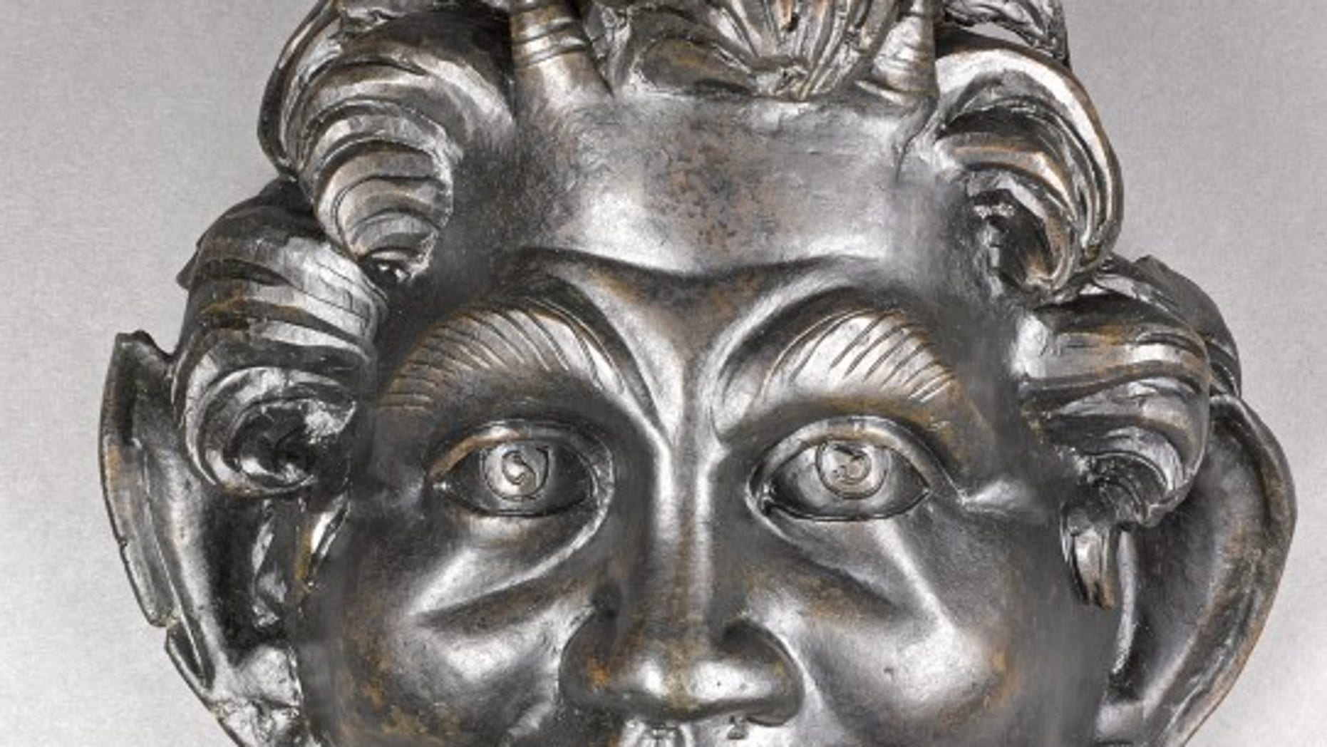 The bronze mask of Pan discovered near Hippos is unusually large compared to other such bronze masks of the Greek God that date from the same period.