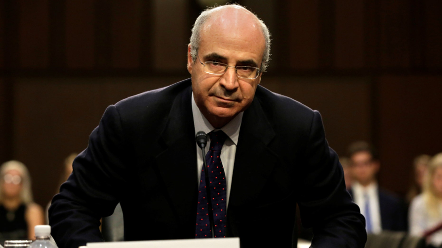 Hermitage Capital CEO William Browder arrives to testify before a continuation of Senate Judiciary Committee hearing on alleged Russian meddling in the 2016 presidential election on Capitol Hill in Washington, U.S., July 27, 2017. REUTERS/Yuri Gripas - RC1BC318DB40