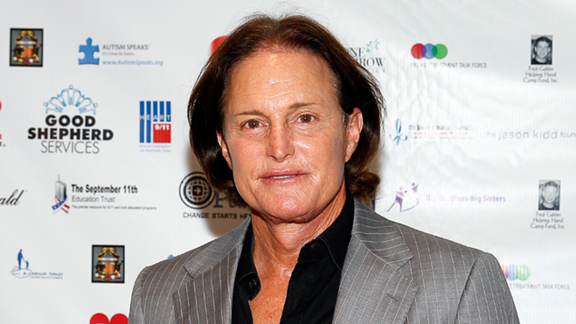 September 11, 2013. Bruce Jenner at a charity event in New York.