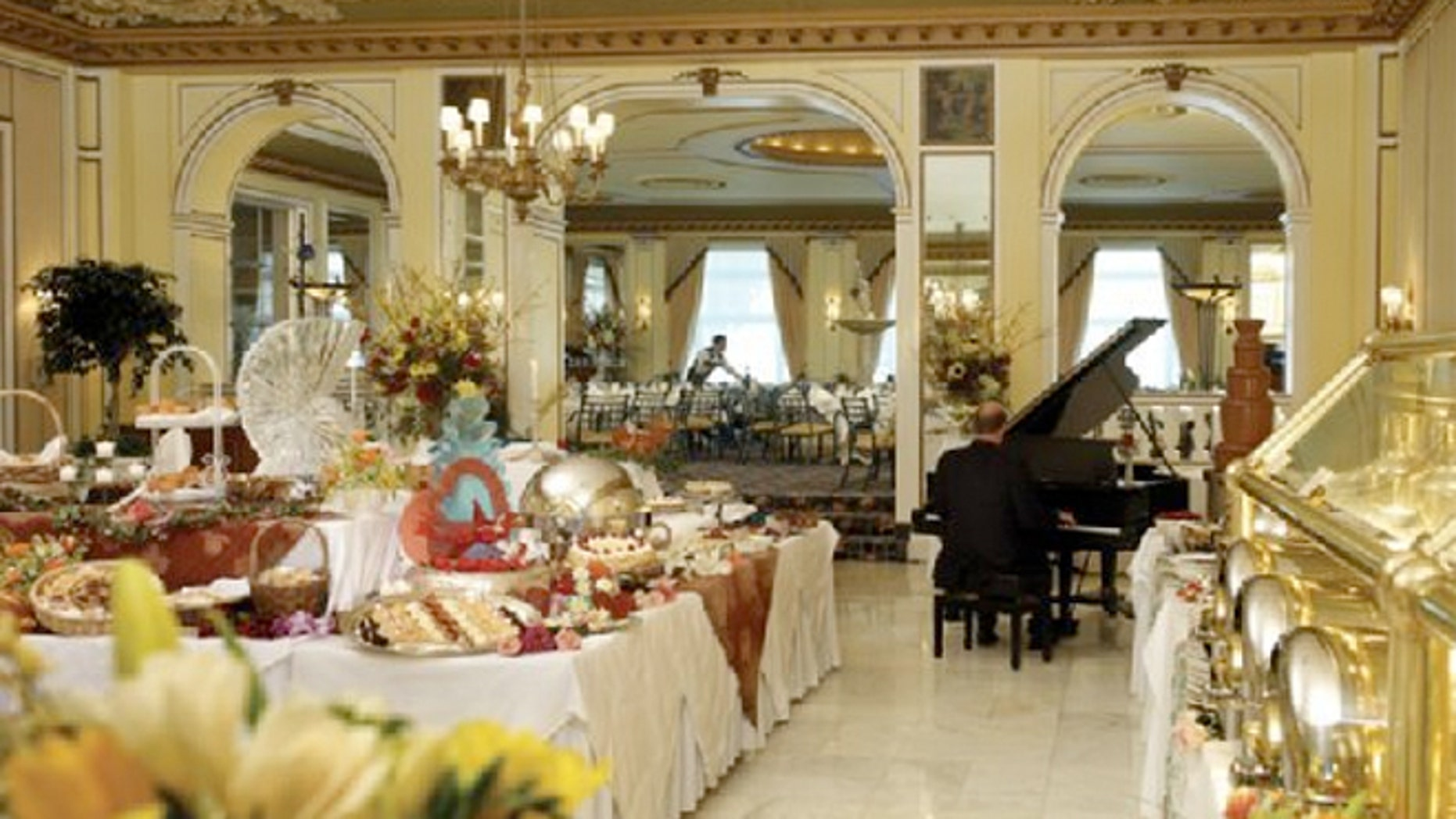 Sunday Brunch at the historic Broadmoor's Lake Terrace Dining Room is a delicious and decadant experience.