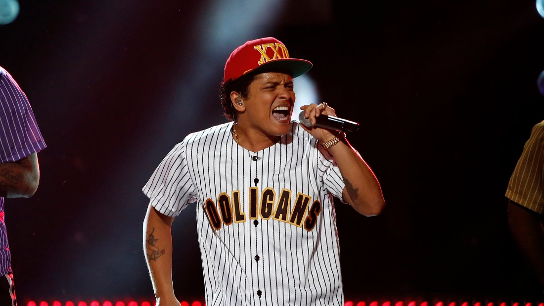 The American Music Awards will be broadcast live on Nov. 19. Bruno Mars is nominated for eight awards.