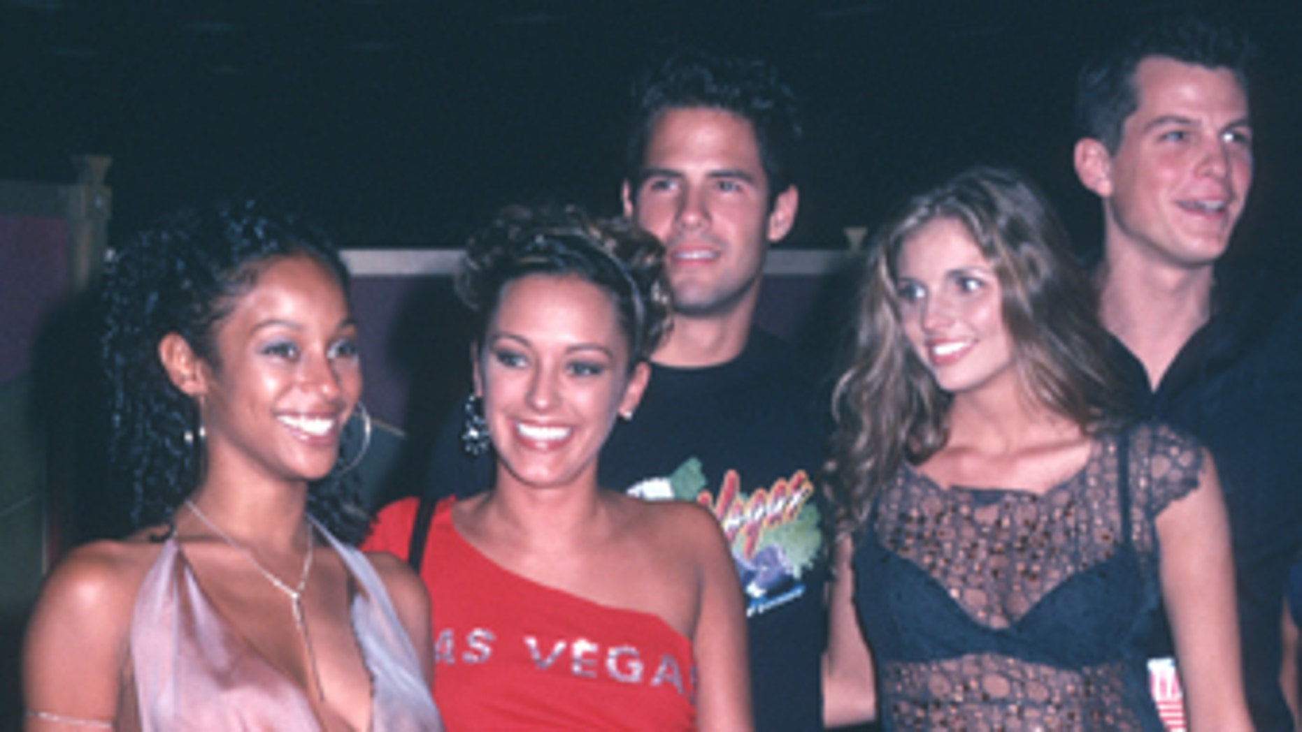 "From l-r: ""Real World: Las Vegas"" cast members Irulan Wilson, Brynn Smith, Steven Hill, Trishelle Cannatella and Frank Roessler."