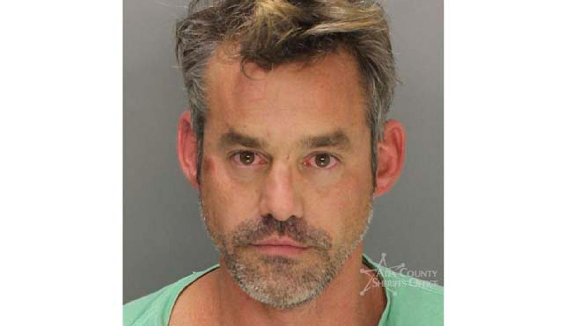Oct. 17, 2014. Booking photo provided by Ada County Sheriff of actor Nicholas Brendon, of Sherman Oaks, Calif., after he was arrested in Boise, Idaho.