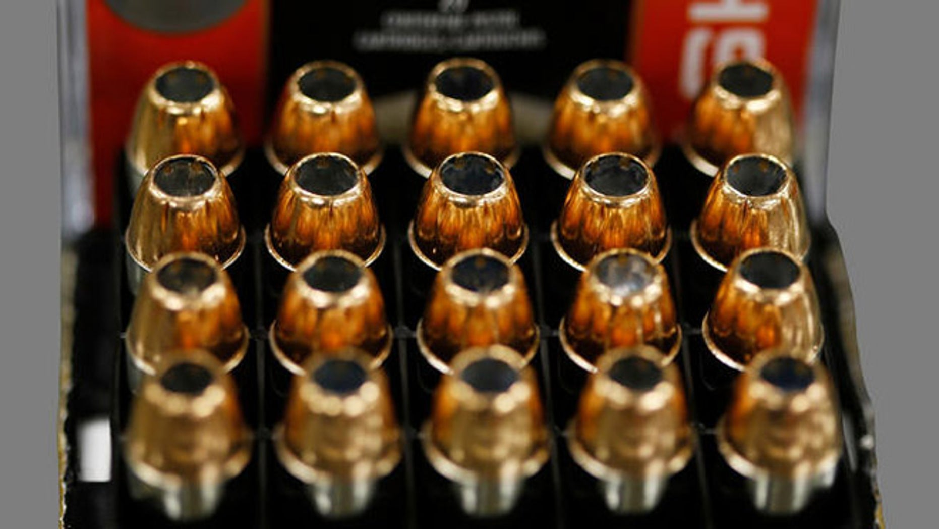Shown here are Federal Premium hollow point bullets.