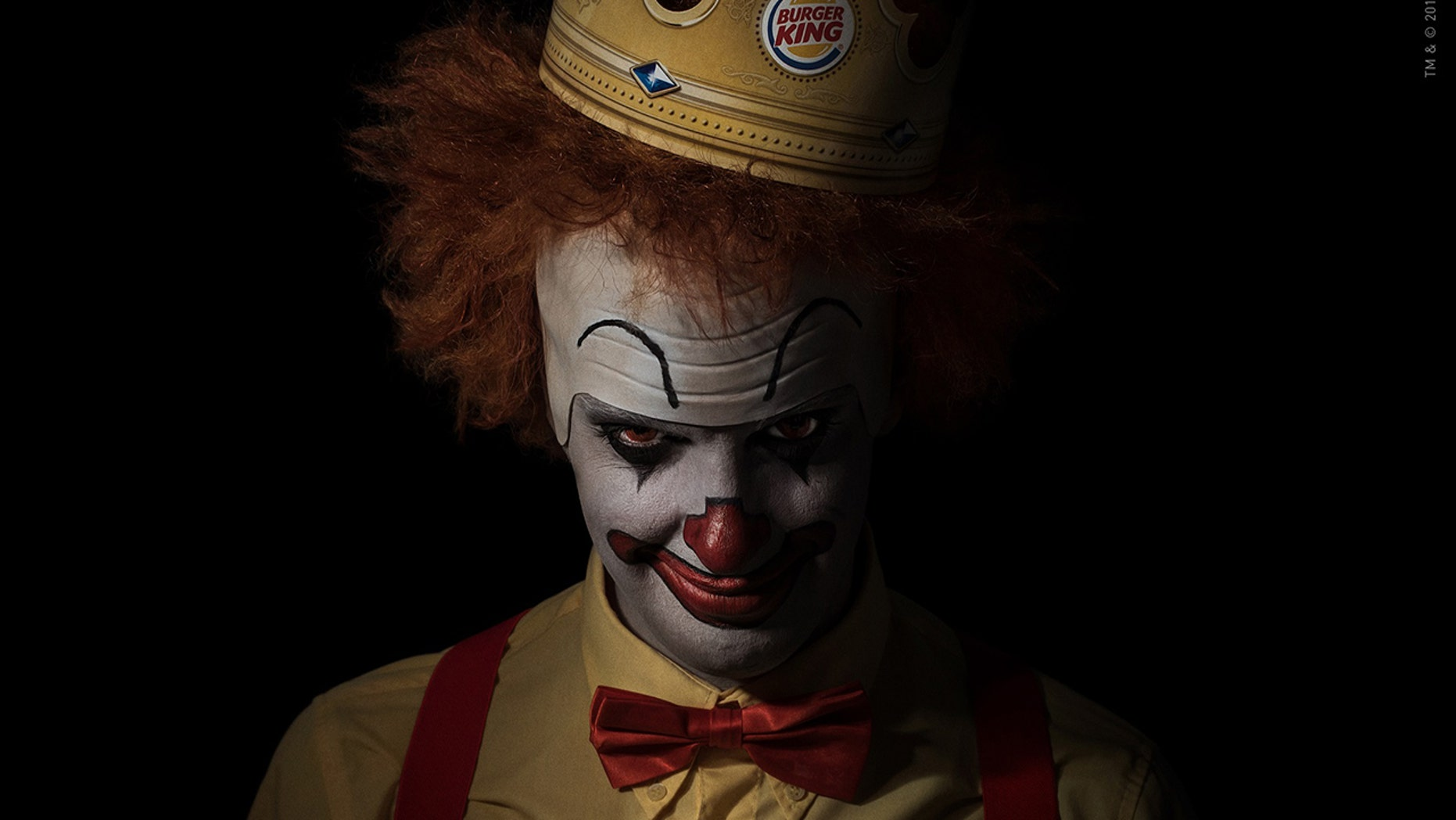 Burger King's clown looks oddly familiar.