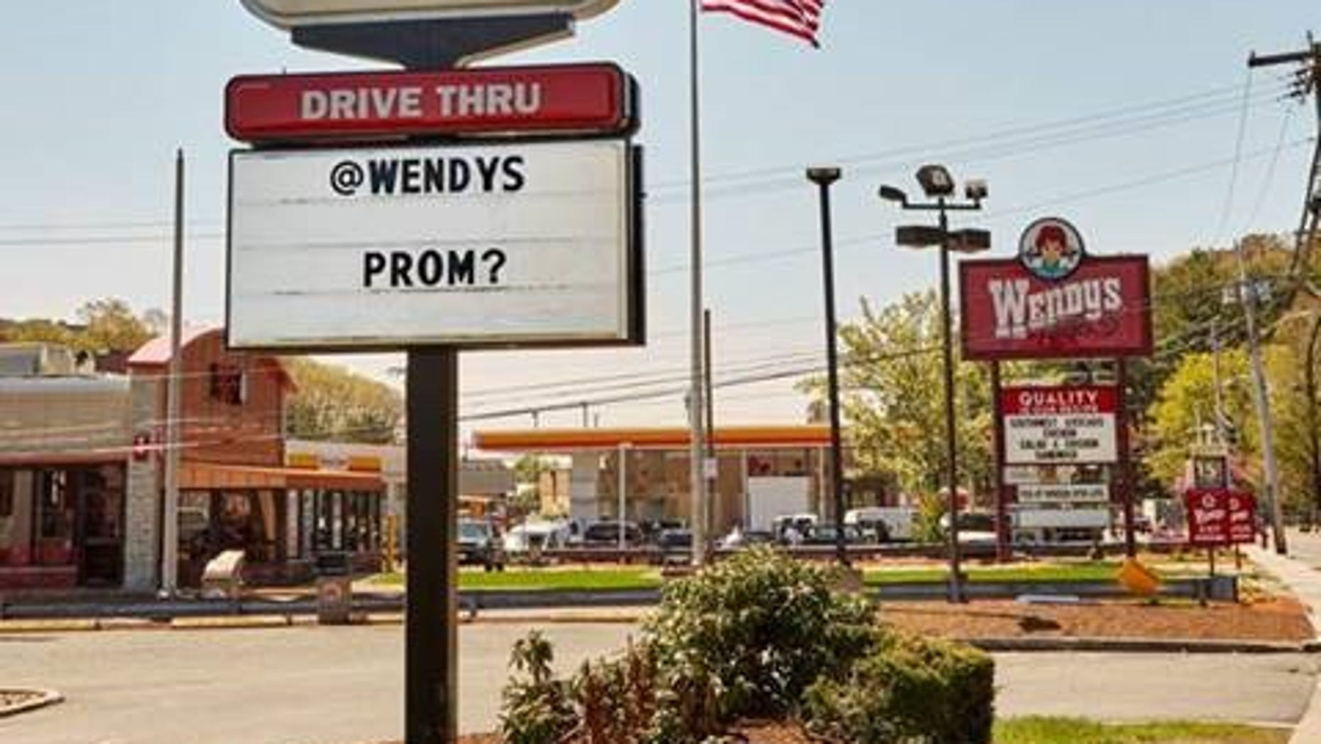 Burger King wants Wendy's to be its prom queen.