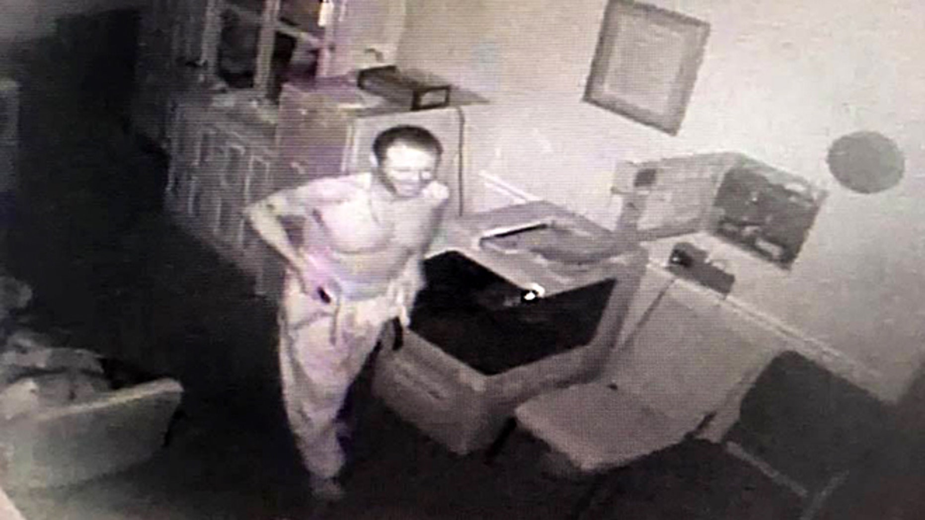 Leitchfield Police in Kentucky are investigating after a man was caught on camera stealing from a funeral home.