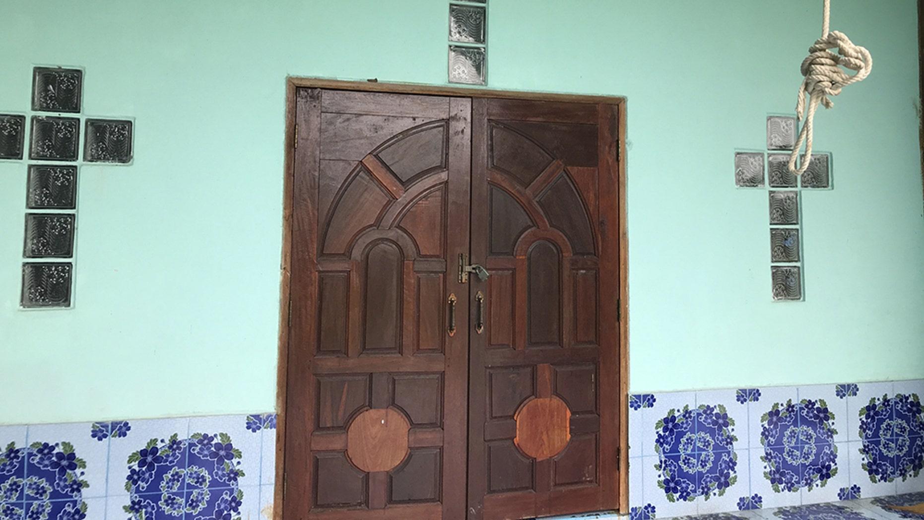 A Karen Church in Kayin State, Burma