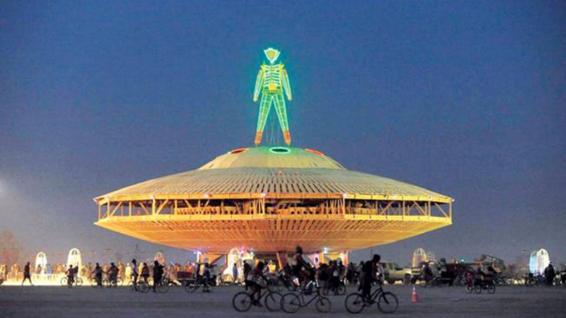 The fest, which started in 1990 at Black Rock Desert, attracts tens of thousands of loyal attendees each year for the music, art and massive sculptures that are burned at the end of the event.