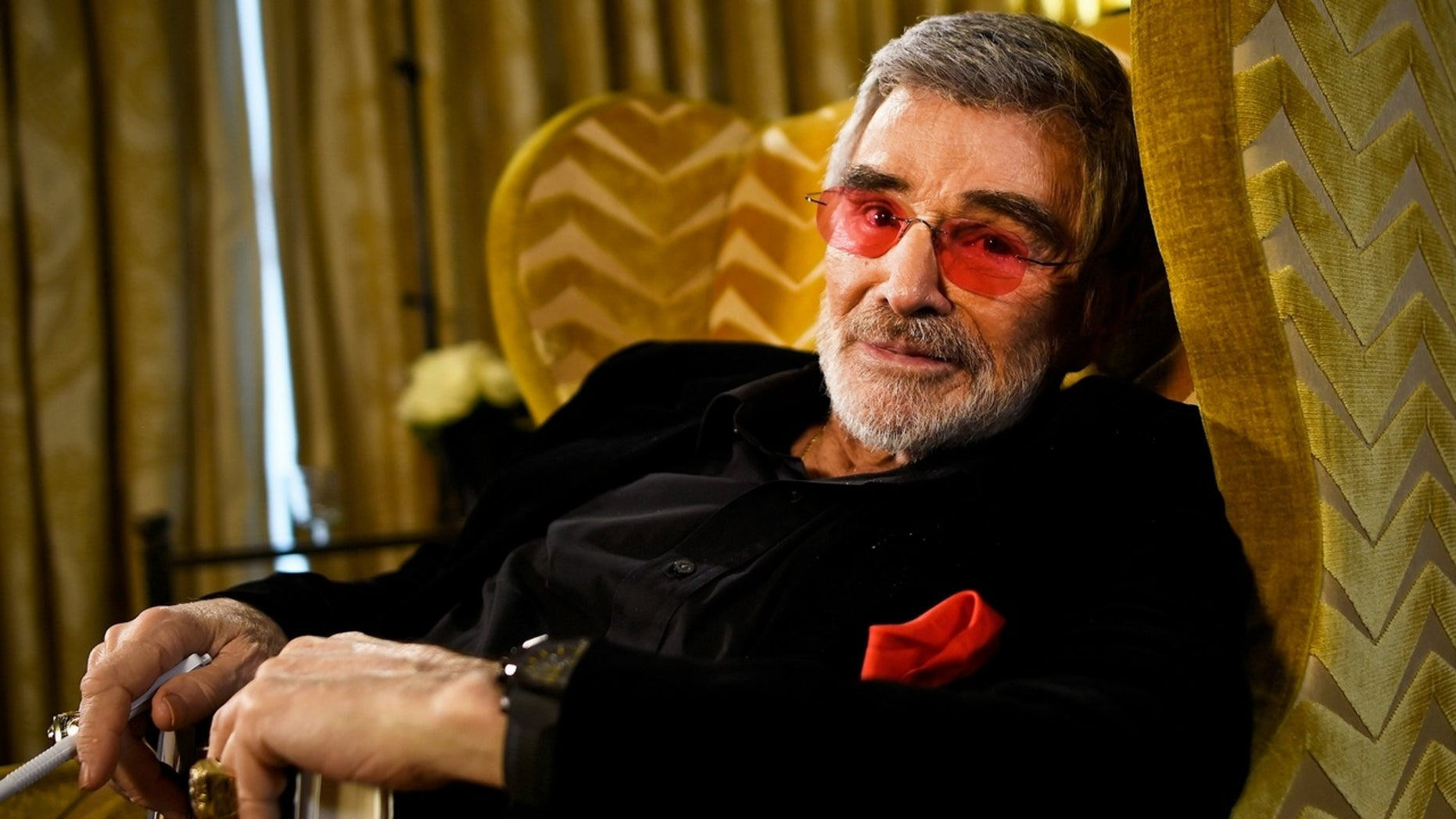 """Burt Reynolds had a bizarre interview on the """"Today"""" show on Thursday, March 15, 2018."""
