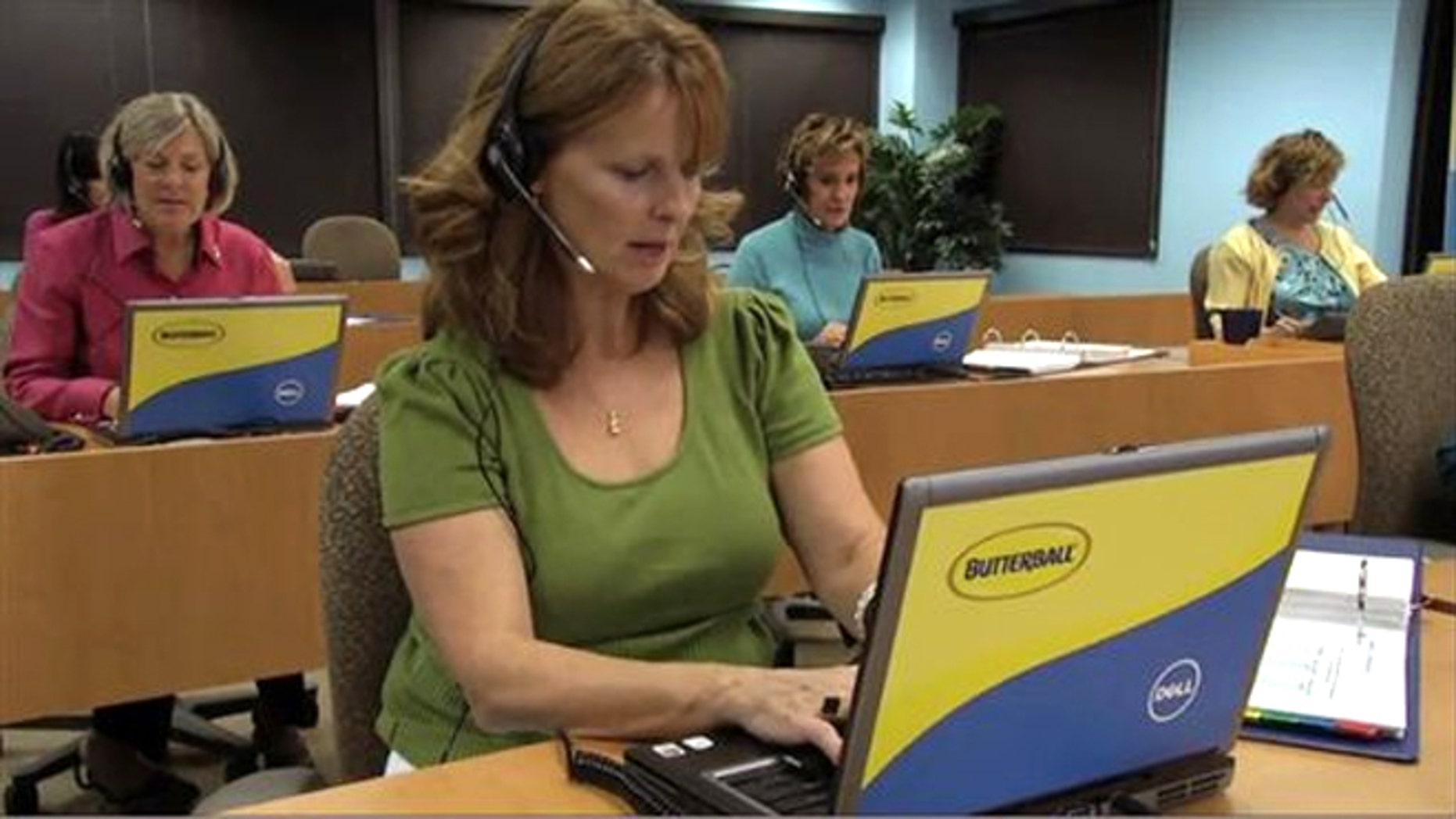 FILE: Butterball's Turkey Talk Line, which has grown from six operators to about 60 since it launched in 1981, has never hired men, until now.