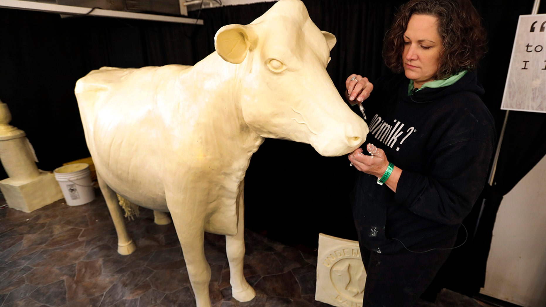 The Iowa State Fair's annual Butter Cow tradition dates back to 1911.