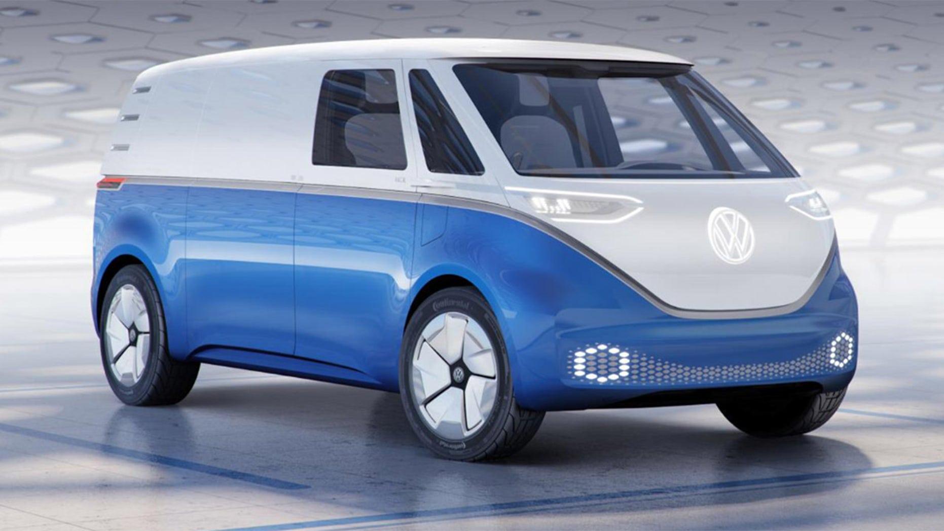 Volkswagen I D  Buzz Cargo Electric Van Delivers The Goods With Retro Style