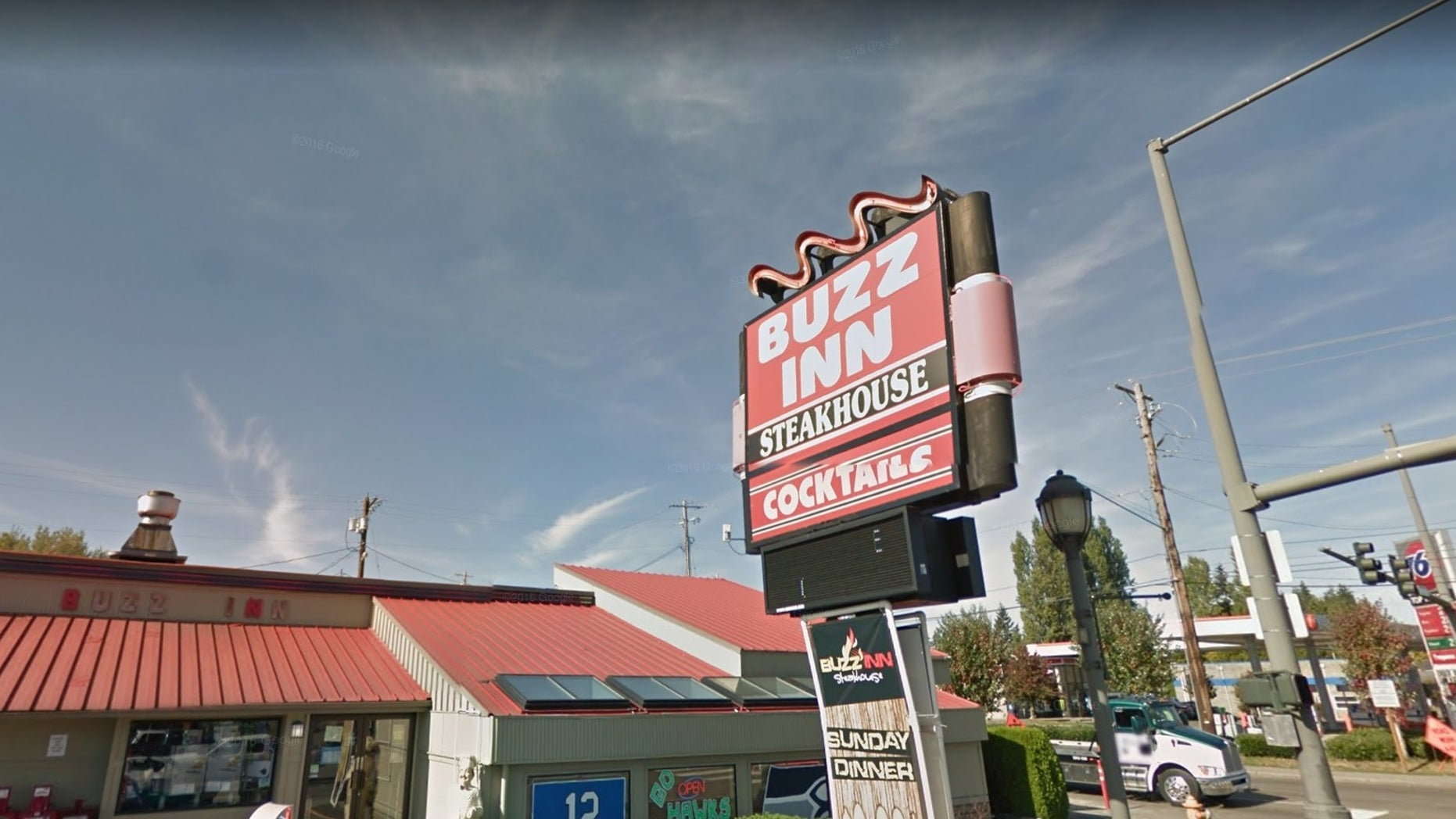 A pregnant woman was reportedly refused service at the Buzz Inn Steakhouse because of her exposed stomach.