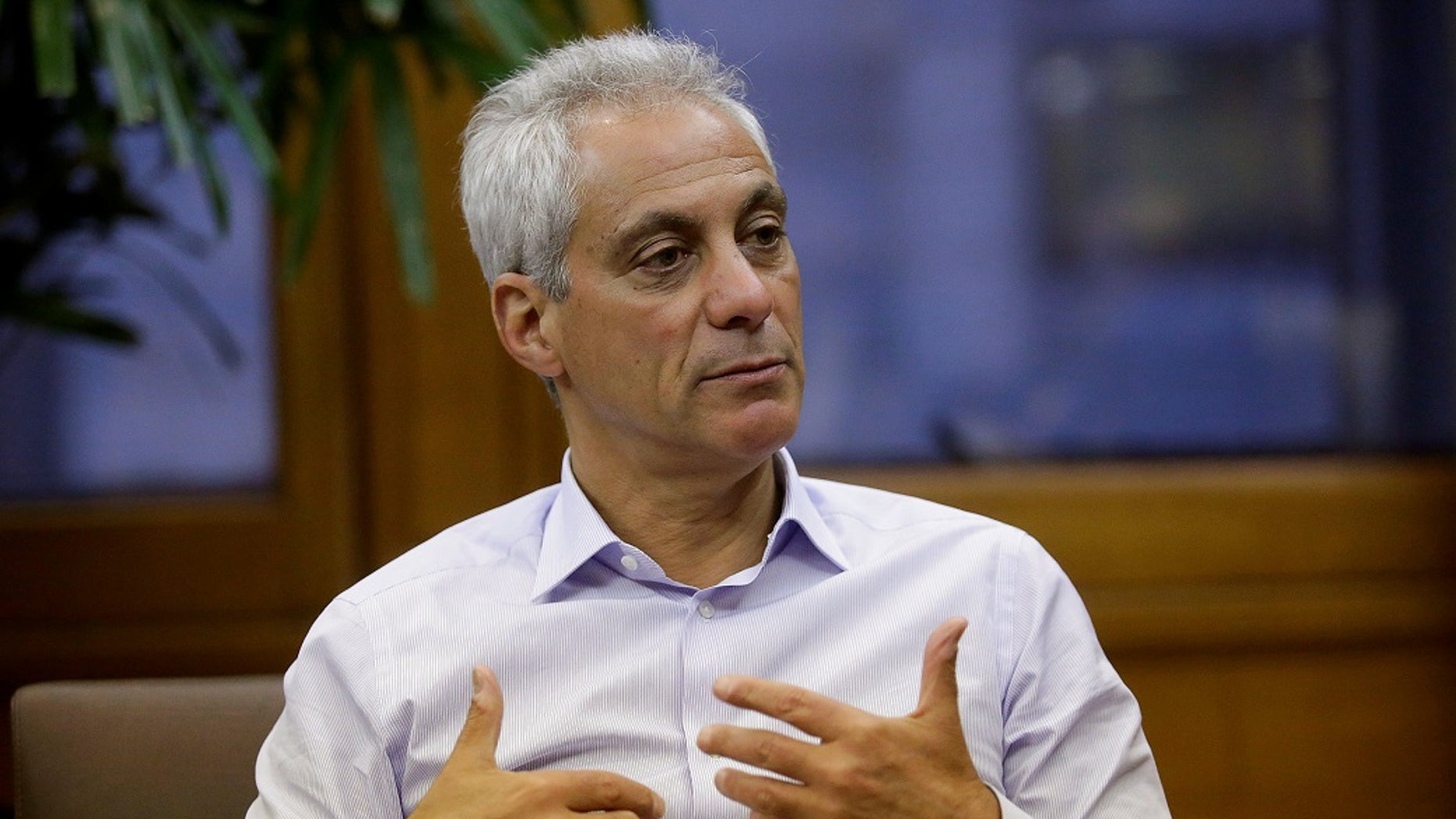 Rahm Emanuel, who was a three-term congressman from Illinois before spending two terms in Chicago's mayoral office, appears to be diving back into Washington politics after electing not to run for a third term in office. (Reuters)