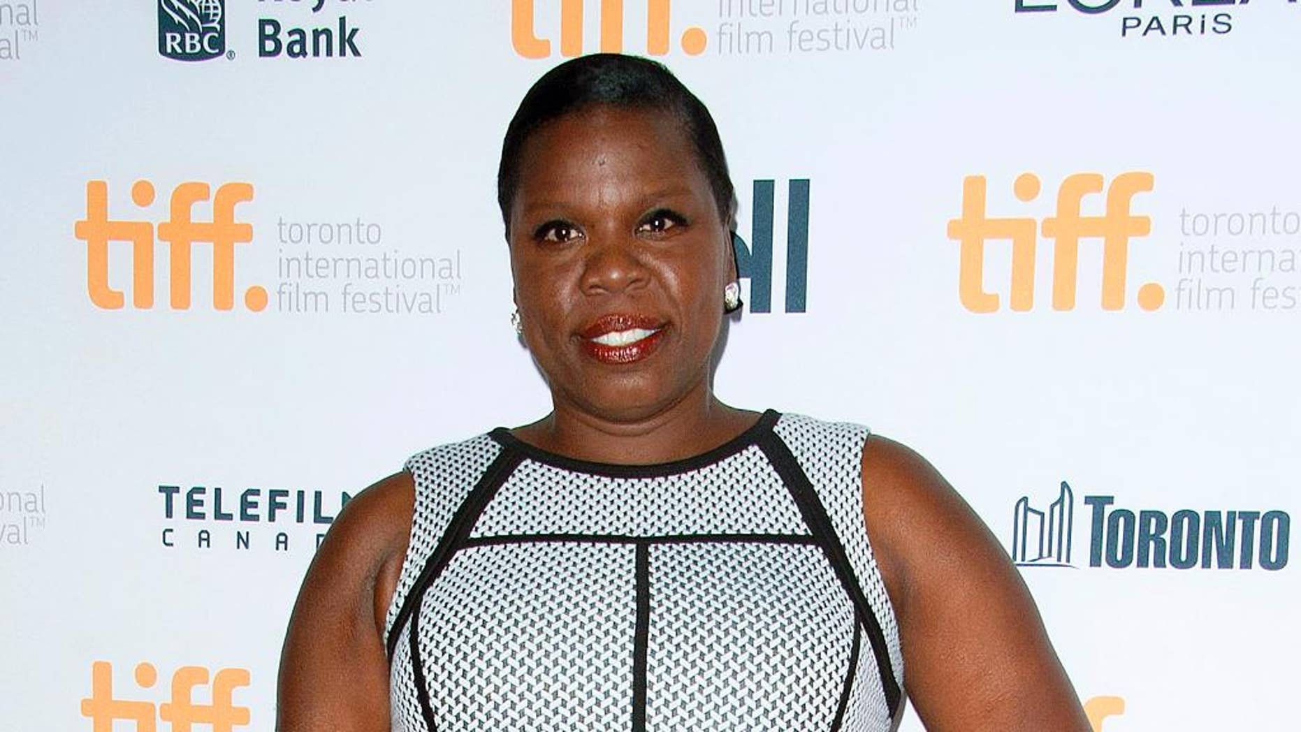 """Sept. 6, 2014. Leslie Jones poses at the """"Top Five"""" premiere at the Toronto Film Festival."""