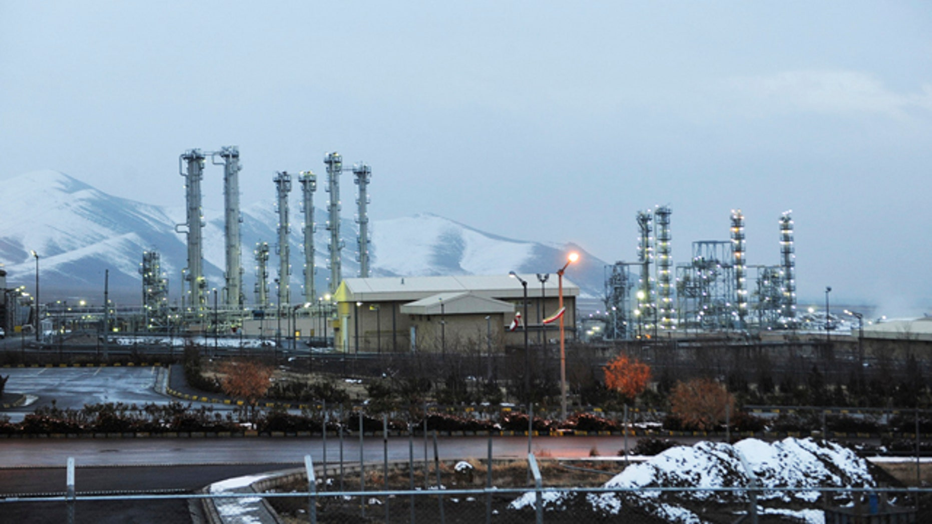 Jan. 15, 2011: A file photo, shows Iran's heavy water nuclear facilities near the central city of Arak 150 miles southwest of Tehran, the negotiating stance from Iranian officials never varies: The Islamic Republic will not give up its capabilities to make nuclear fuel.