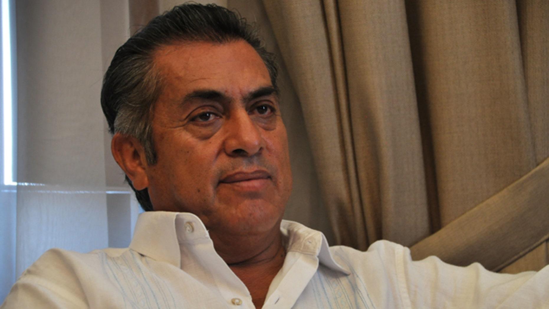 """Mexican Gov. Jaime Rodriguez Calderon, aka """"El Bronco."""""""