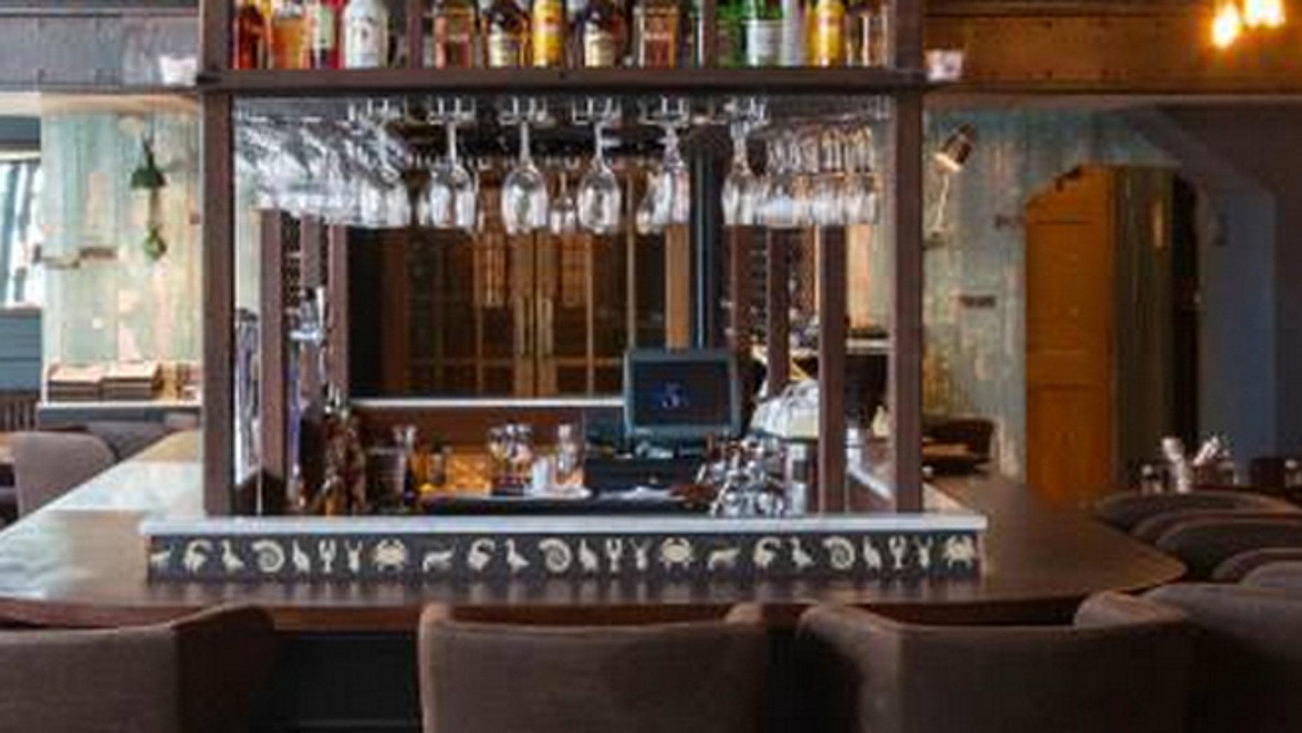 Oliver Dunne's Dublin restaurant, The Cleaver East.