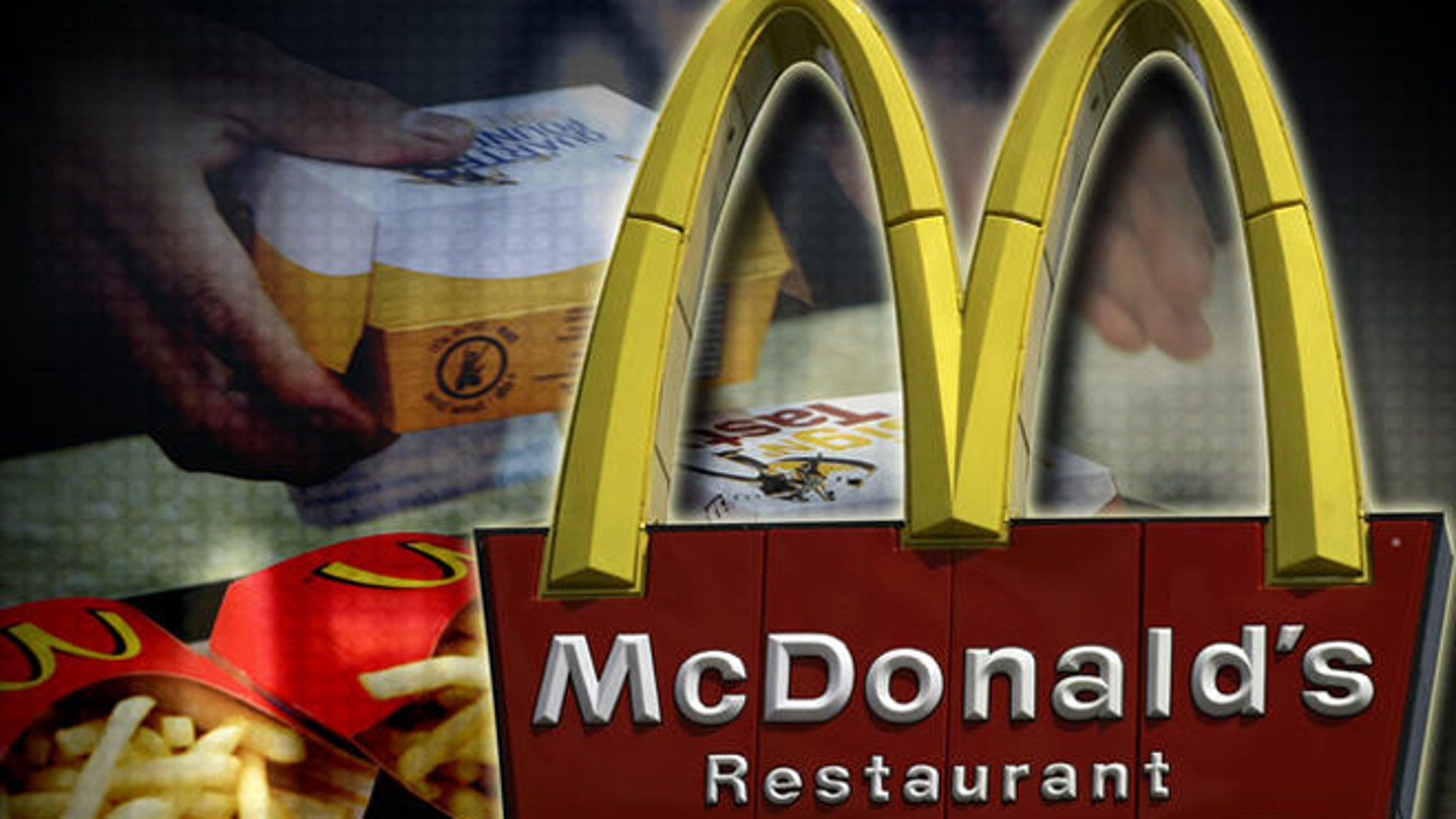 A McDonald's restaurant sign is seen in Tonawanda, N.Y., Monday, April 21, 2008.  McDonald's Corp. said Tuesday that its first-quarter profit rose 24 percent as the fast food company benefited from the weak U.S. dollar and strong global sales. (AP Photo/David Duprey)