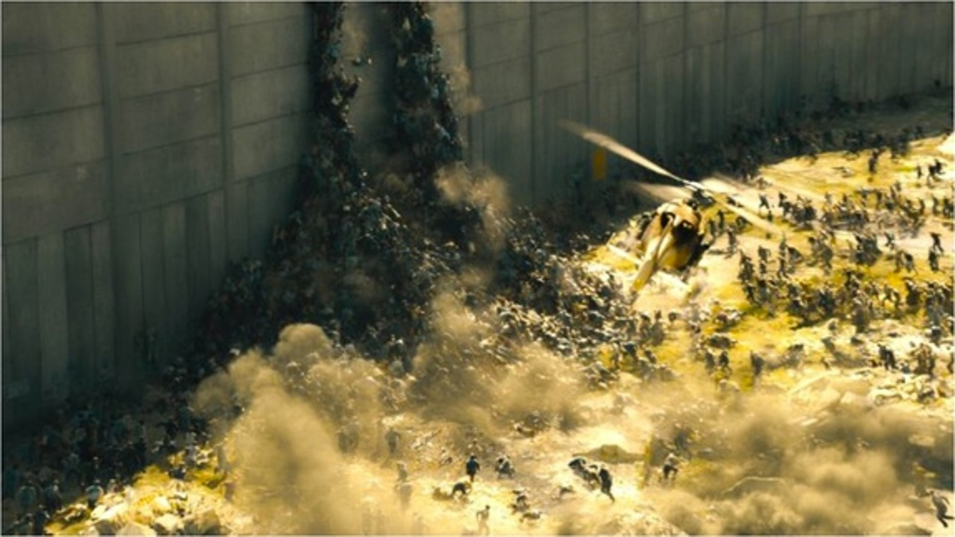 """The fast-paced zombies of """"World War Z."""""""