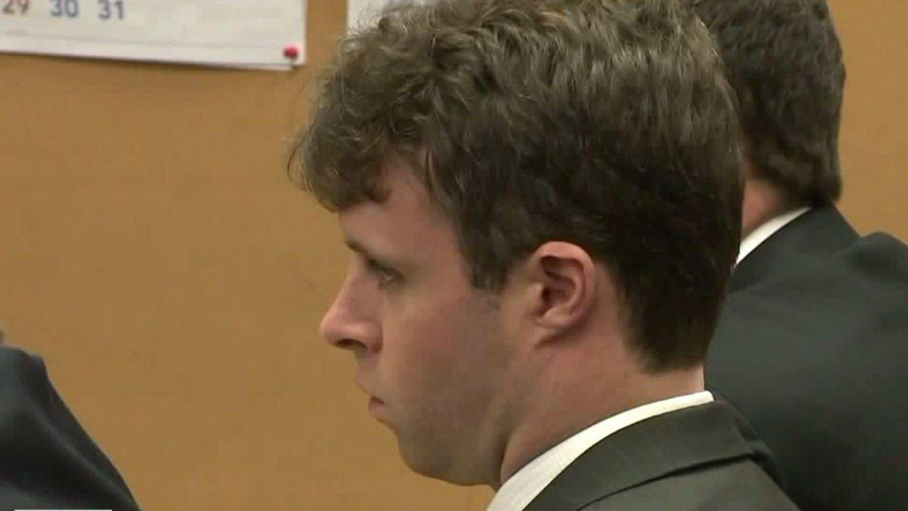 Thomas Burke in court.