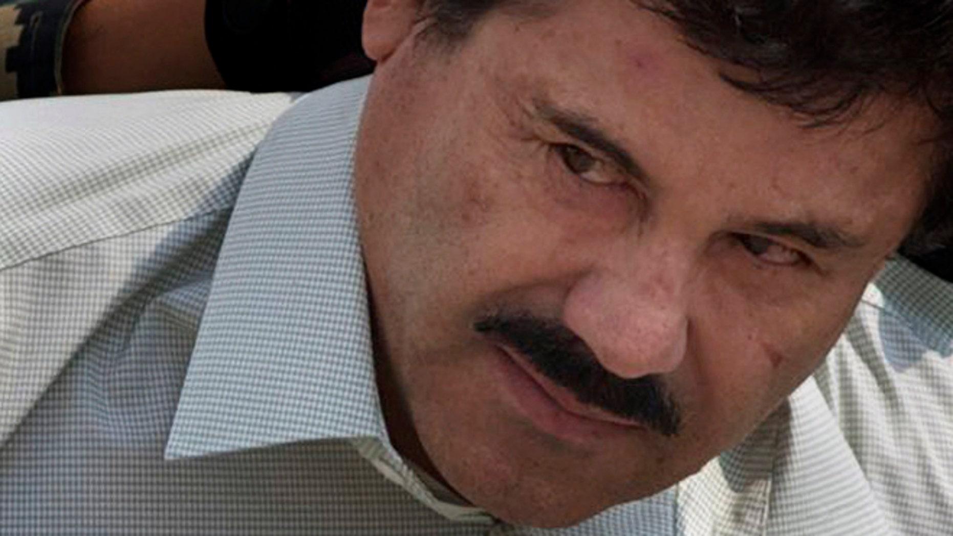 """Joaquin """"El Chapo"""" Guzman in a 2014 file photo."""