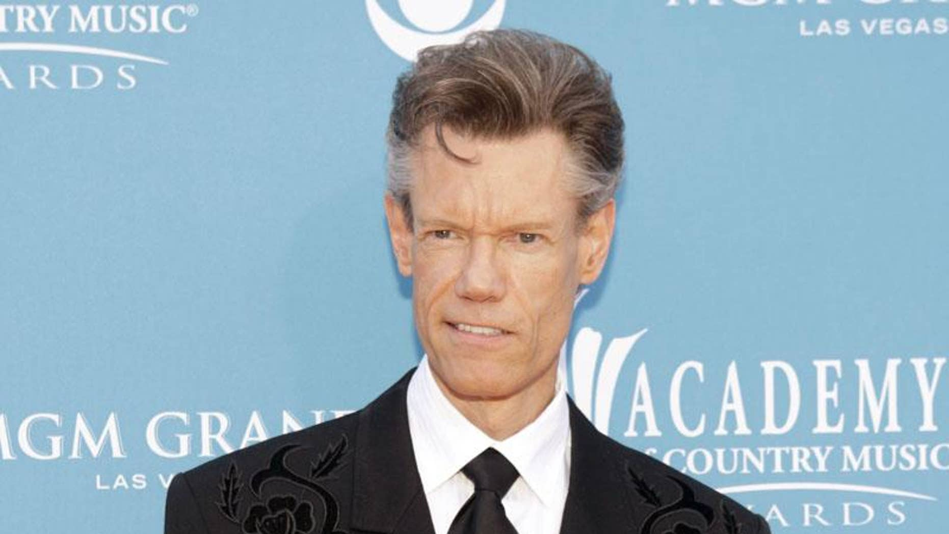 Country singer and actor Randy Travis entered the world as Randy Bruce Traywick.
