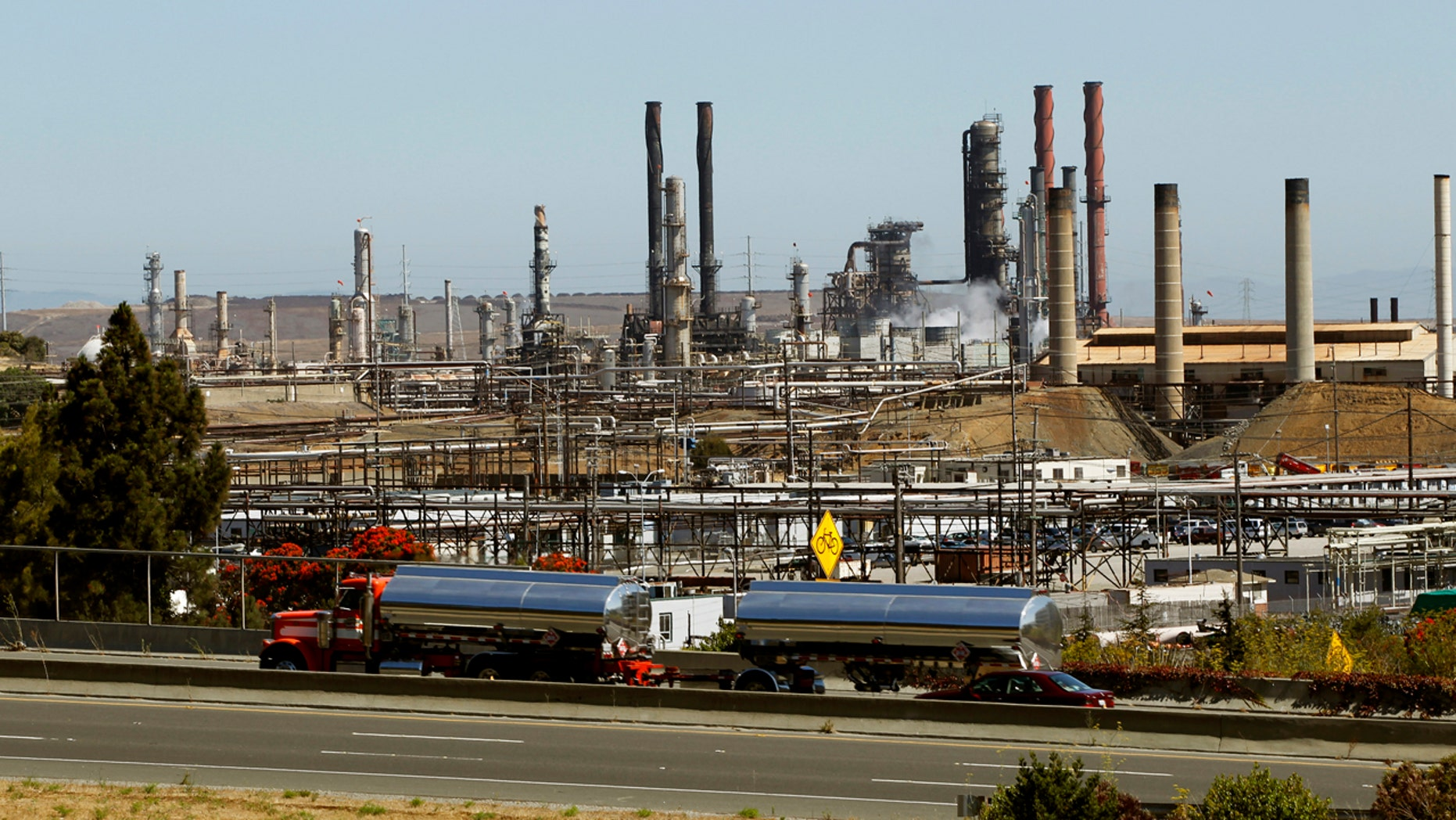 Chevron Corp's refinery is shown in Richmond, California August 7, 2012.