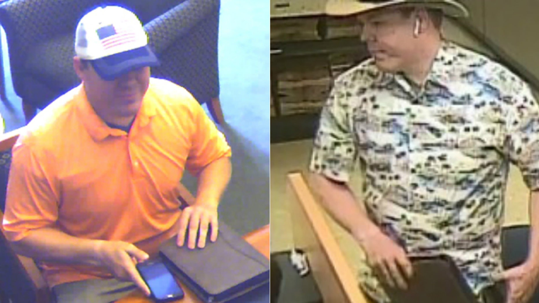 """The """"Faux Badge Bandit"""" struck multiple banks in the Bay Area, officials said."""
