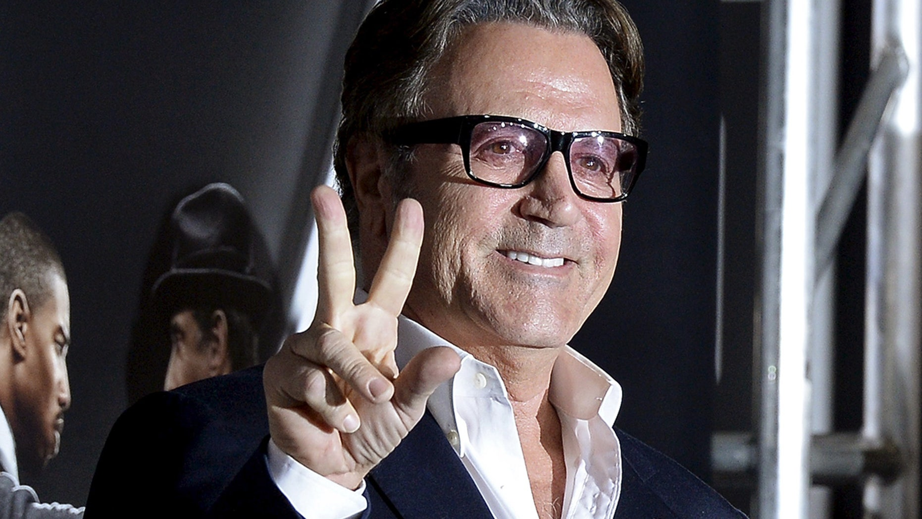 Frank Stallone apologized for his profanity-laded tweet toward David Hogg.