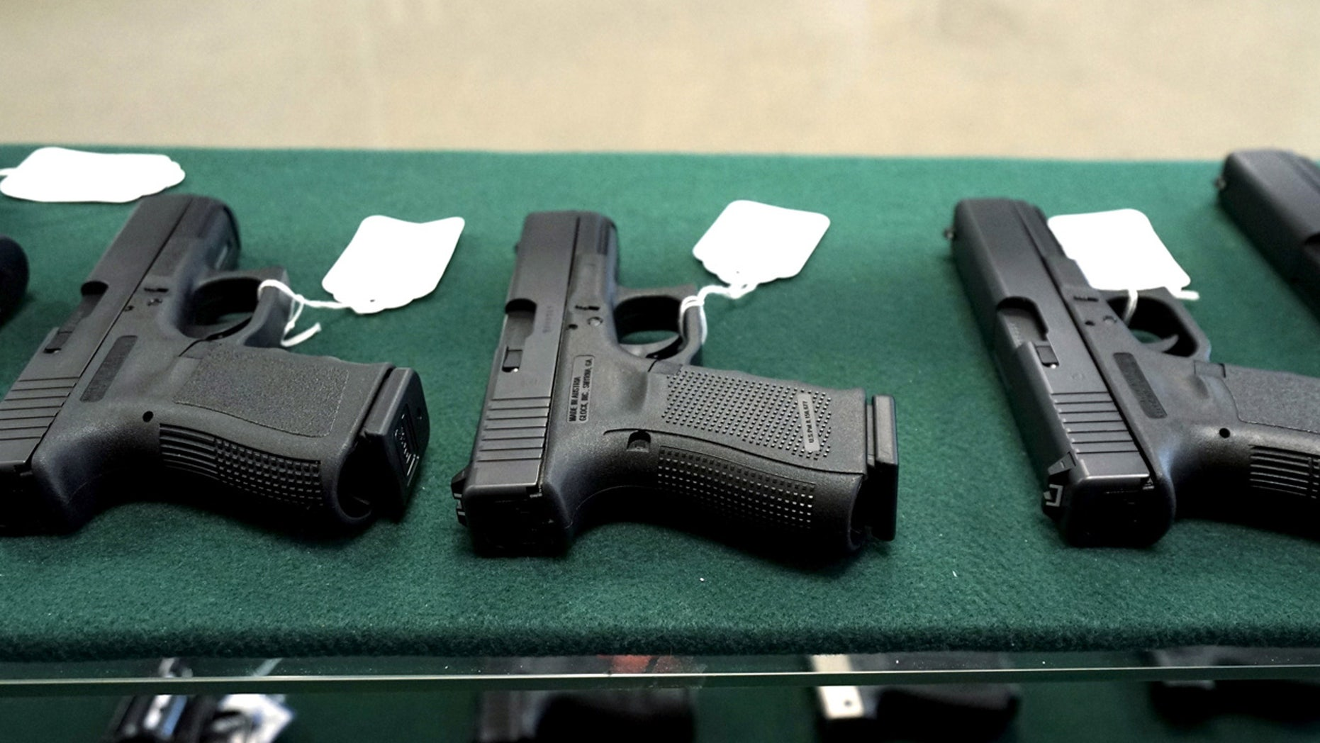 FILE: The FBI reportedly saw an increase in instant gun background checks on Black Friday when compared to last year.