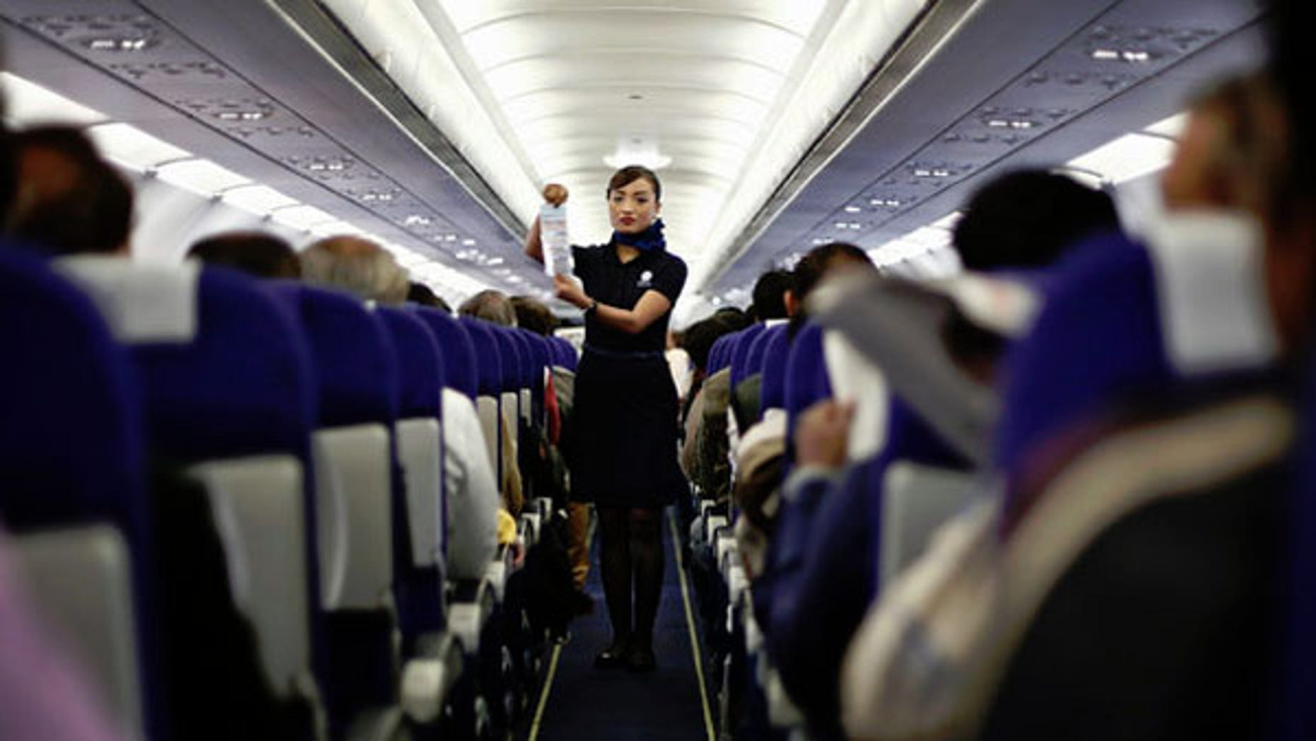 Not only can being nice while flying earn you points, being rude can cost you.