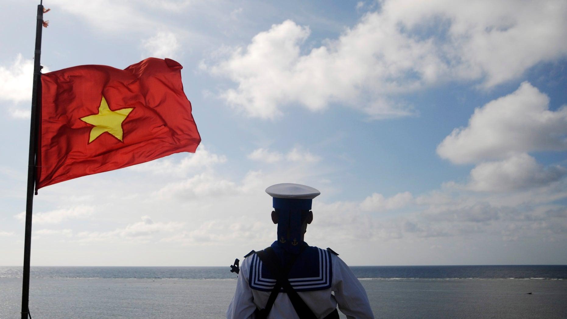 A Vietnamese naval soldier.