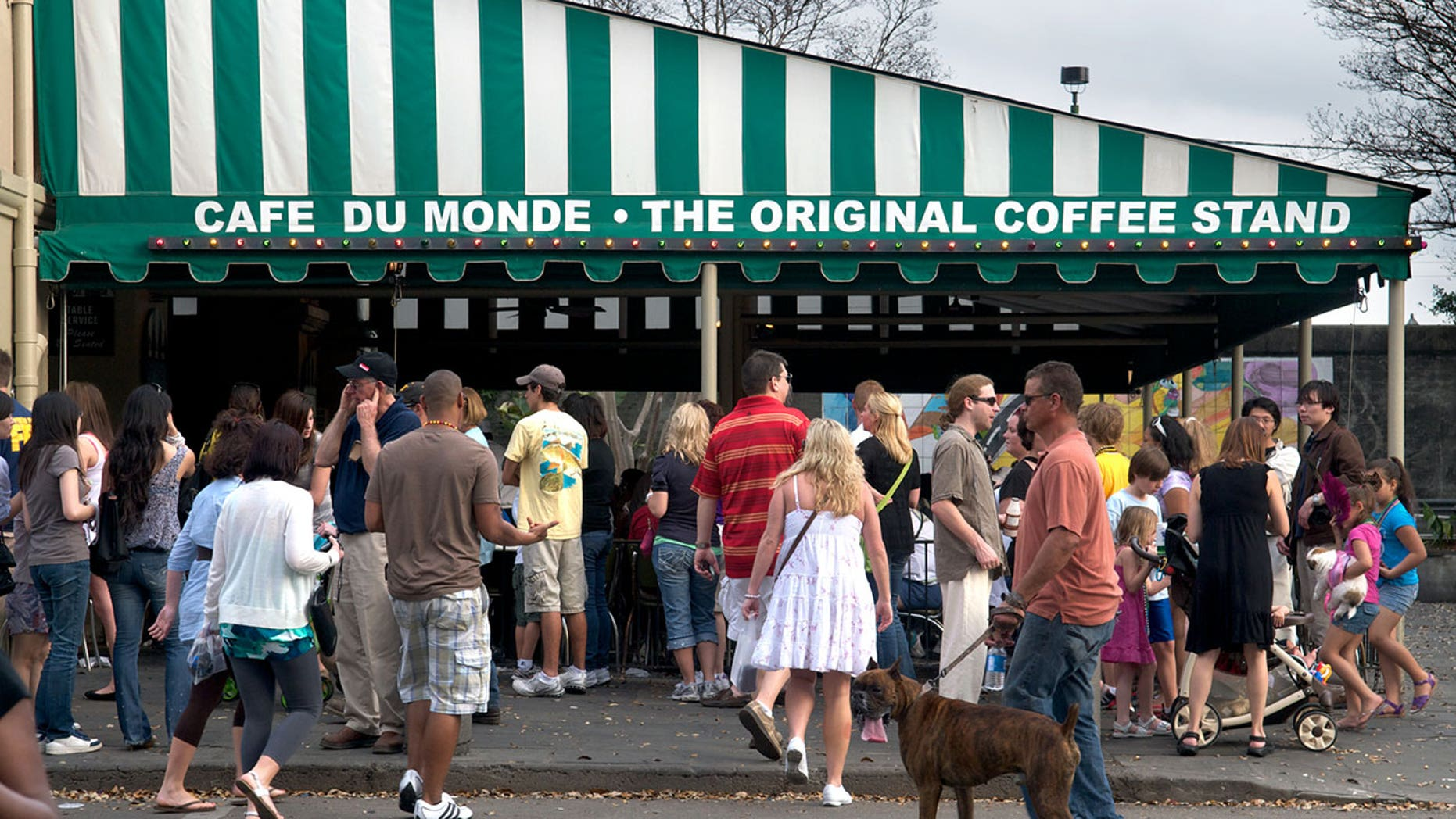 The Cafe Du Monde in New Orleans has cracked Instagram's 2017 list of the most photographed eateries.